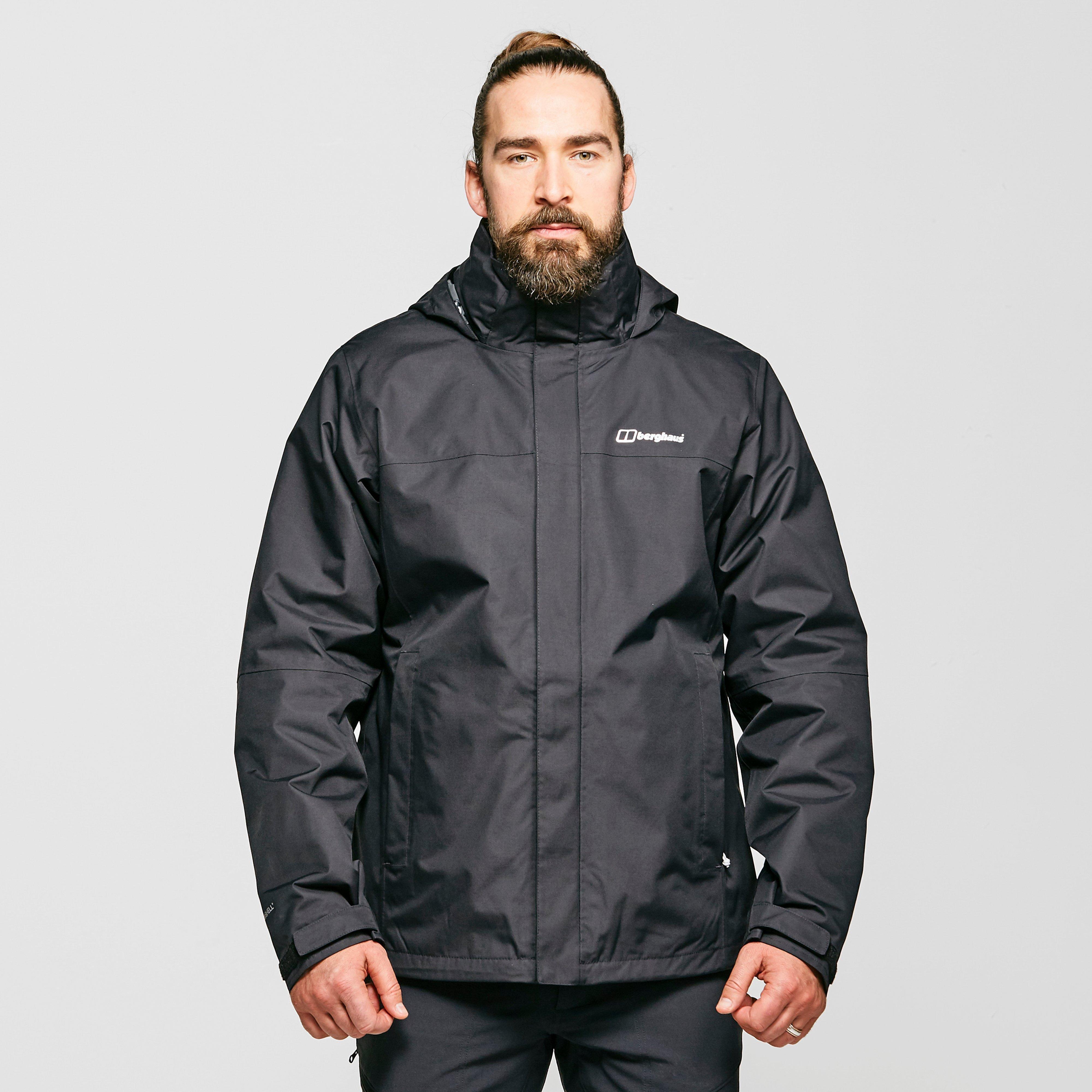 Berghaus Mens Alpha Ii 3-in-1 Jacket - Black/blk  Black/blk