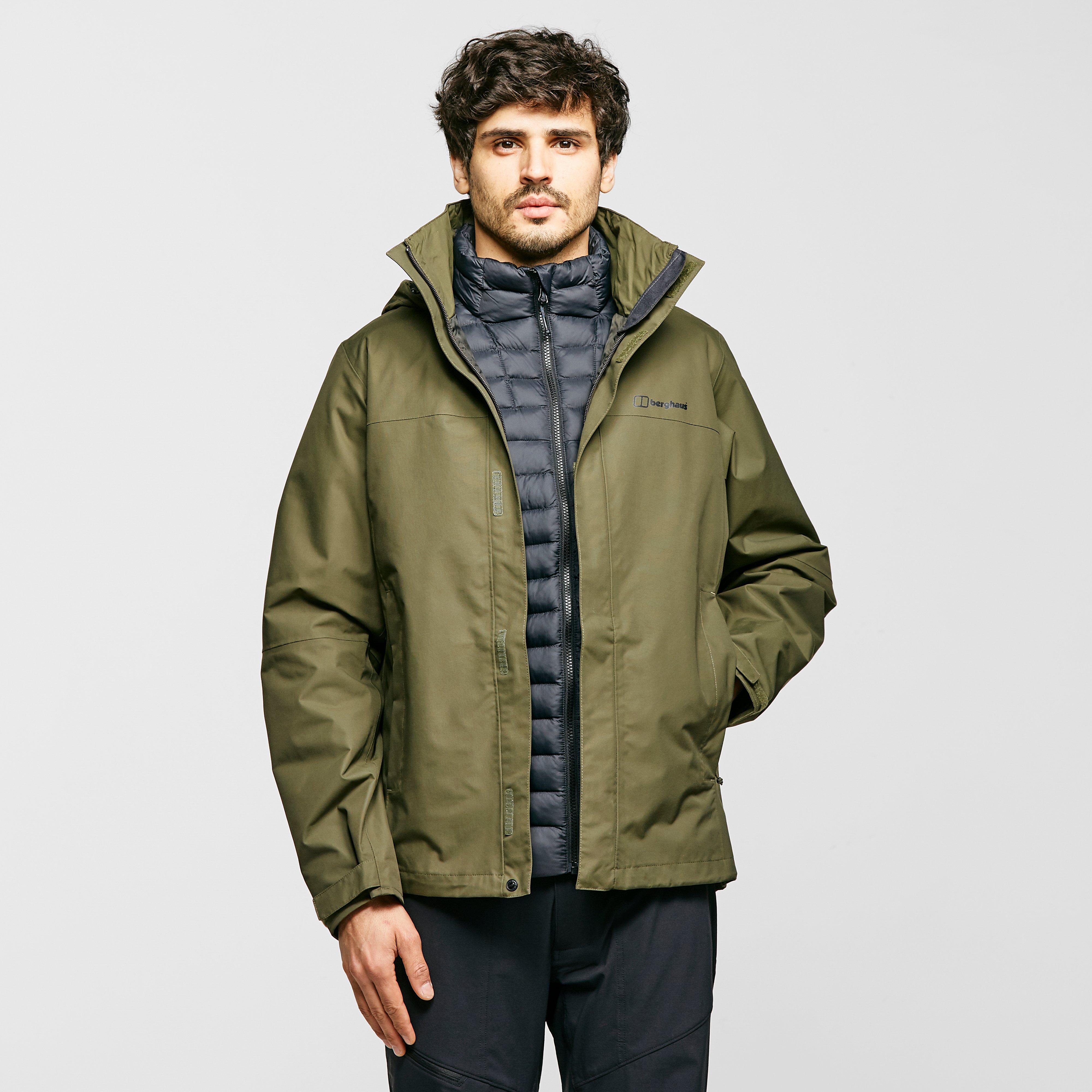 Berghaus Mens Rg Alpha 2.0 Waterproof Jacket - Green/green  Green/green