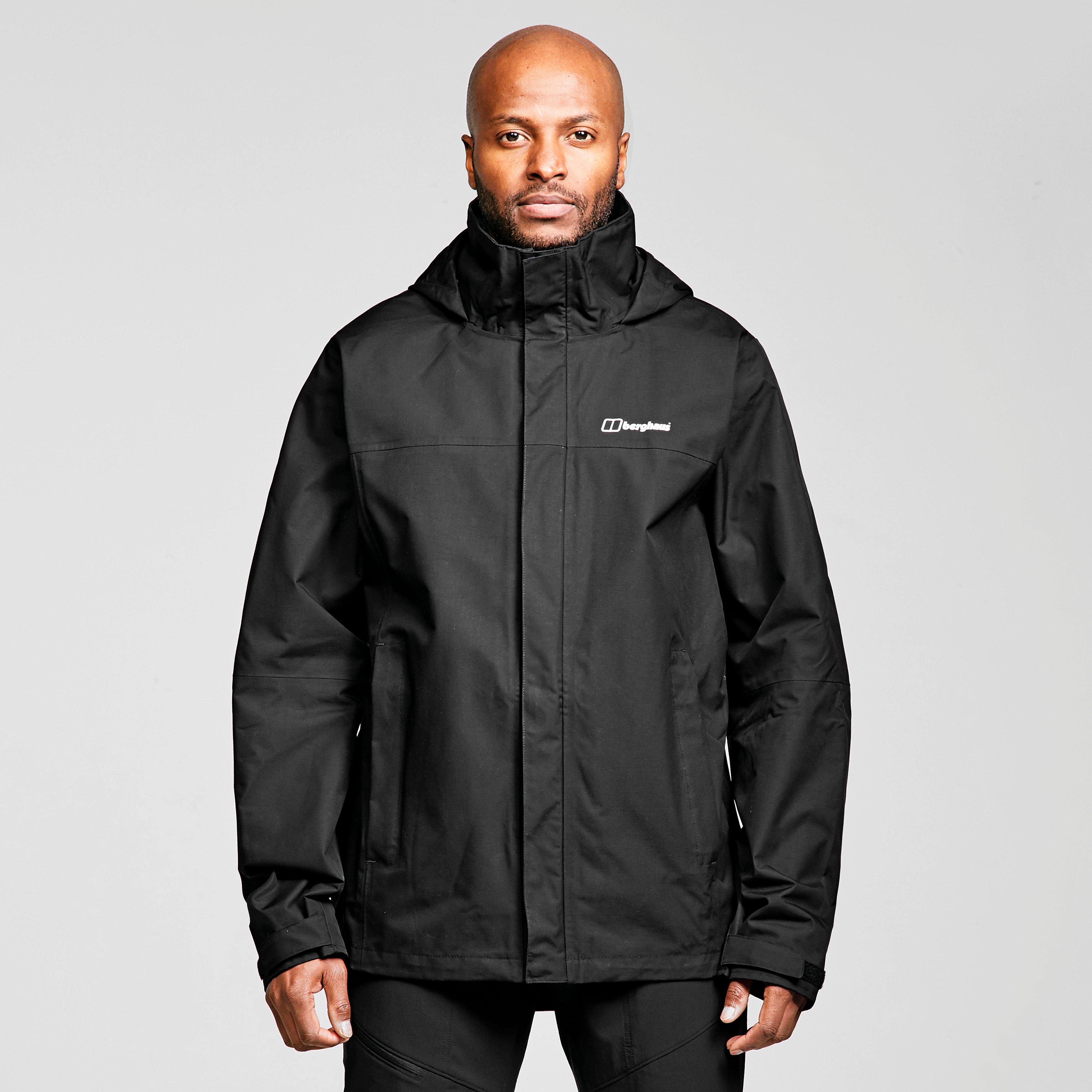 Berghaus Mens Rg Alpha 2.0 Waterproof Jacket - Black/blk  Black/blk