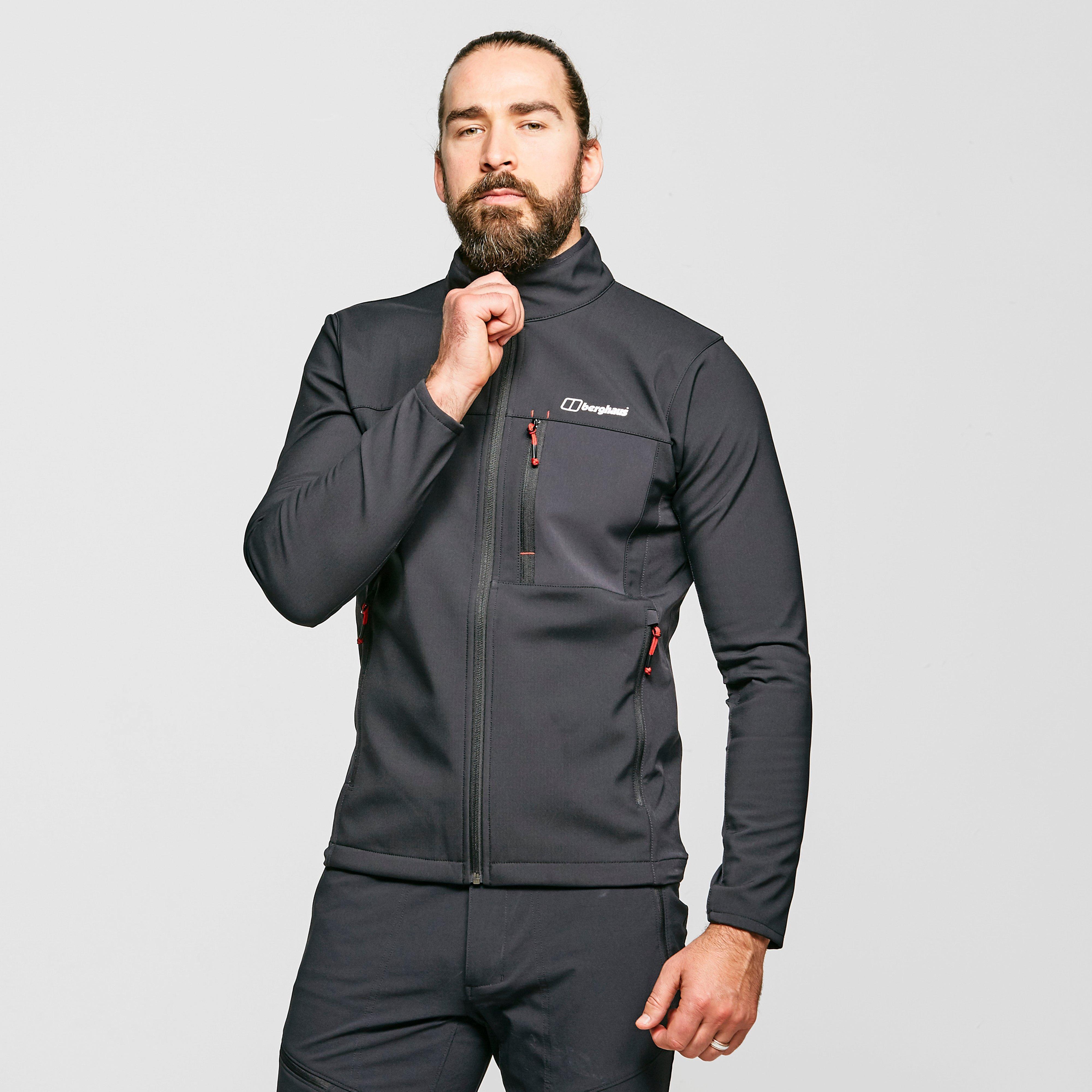 Berghaus Mens Ghlas 2.0 Softshell Jacket - Black/blk  Black/blk