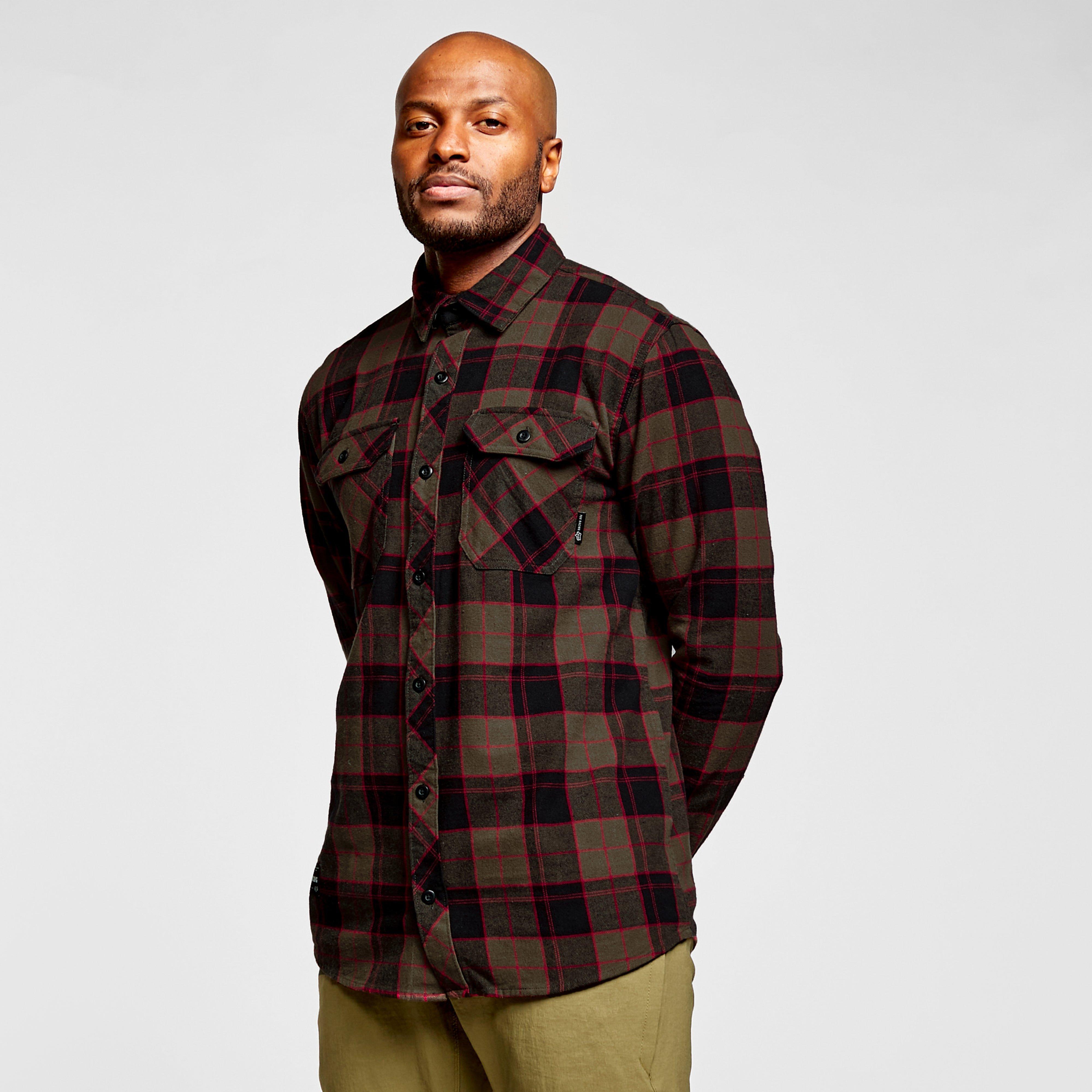 Fox Mens Traildust 2.0 Flannel Shirt - Khaki/khk  Khaki/khk