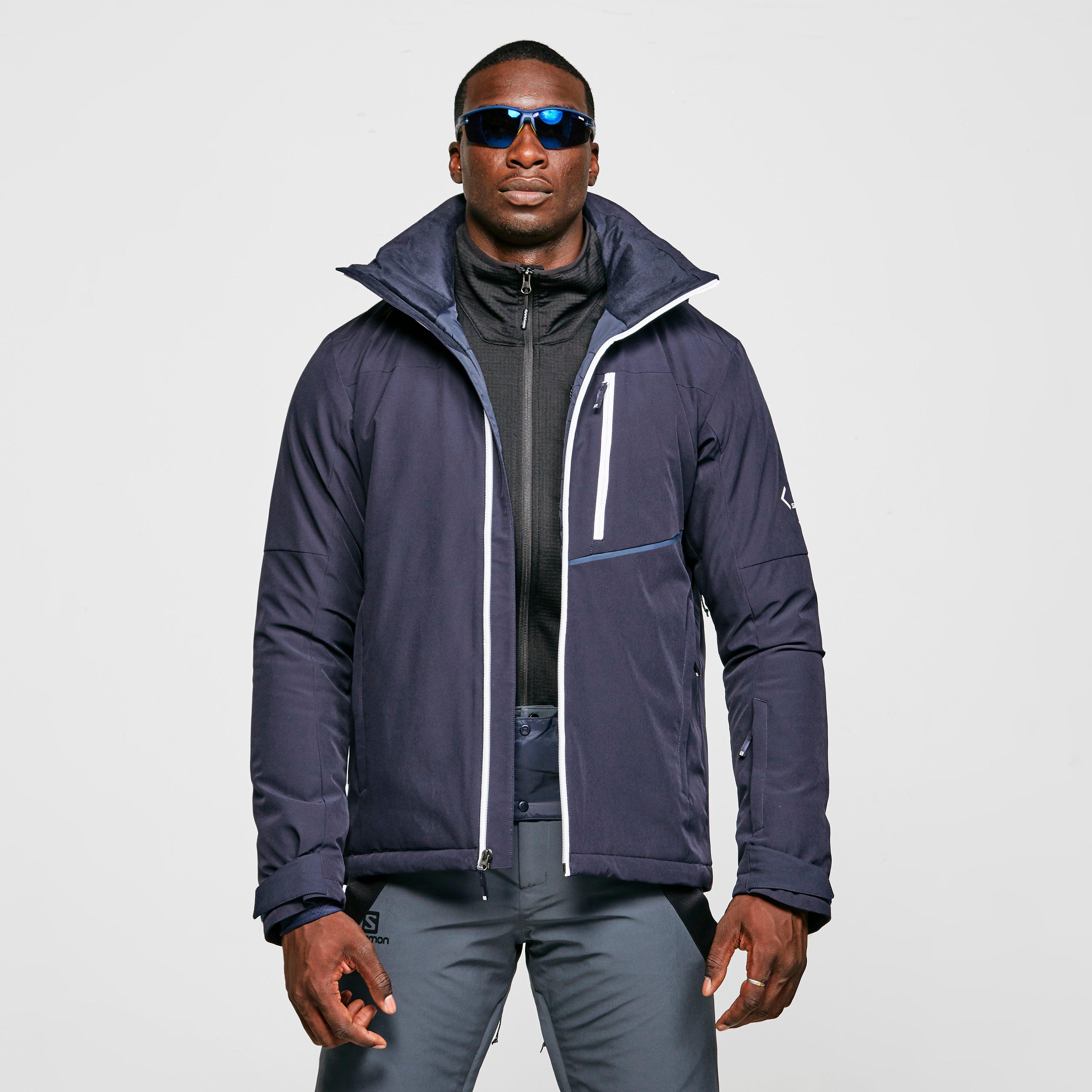 Salomon Mens Blast Ski Jacket - Blue/blu  Blue/blu