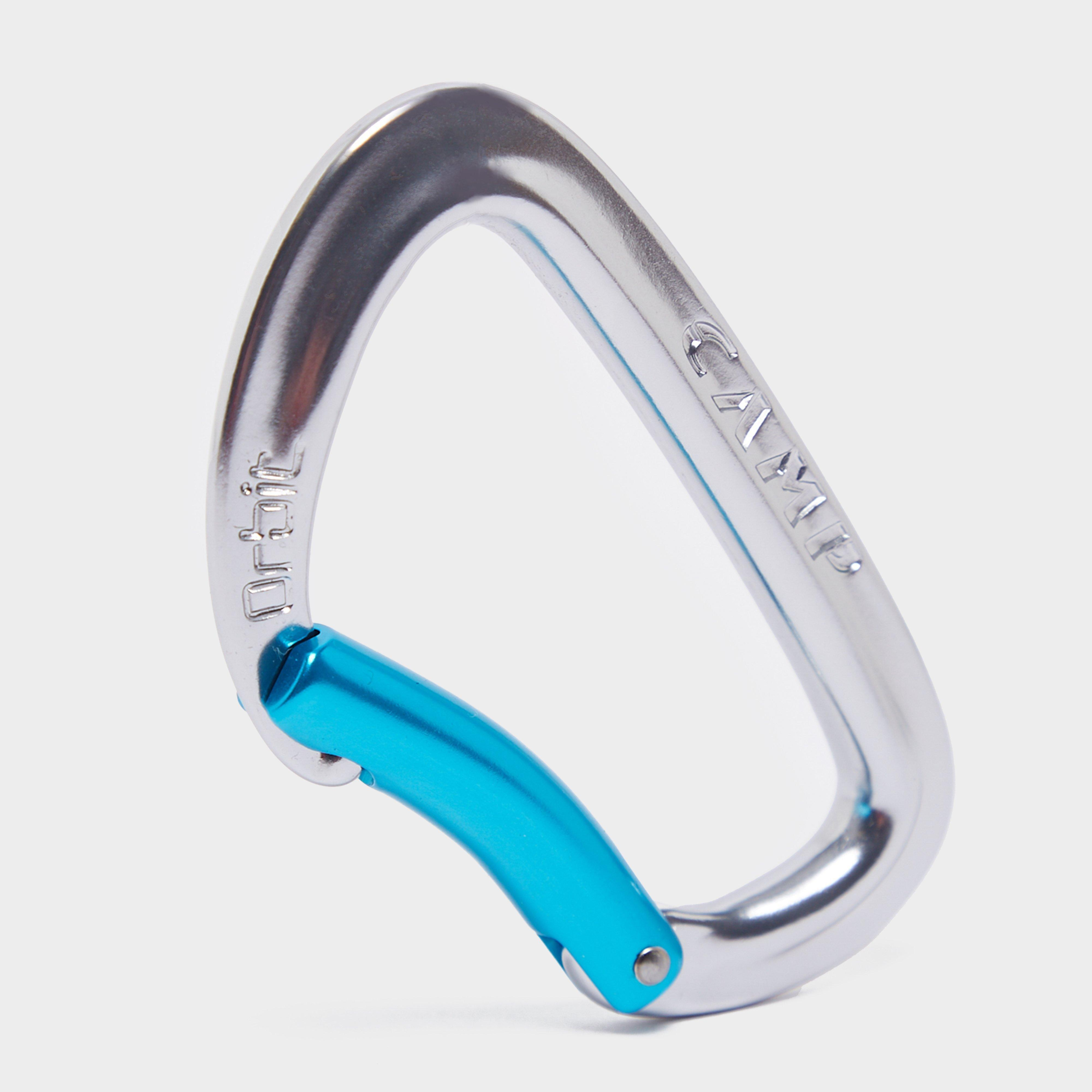 Camp Orbit Bent Gate Carabiner - Silver/gry  Silver/gry