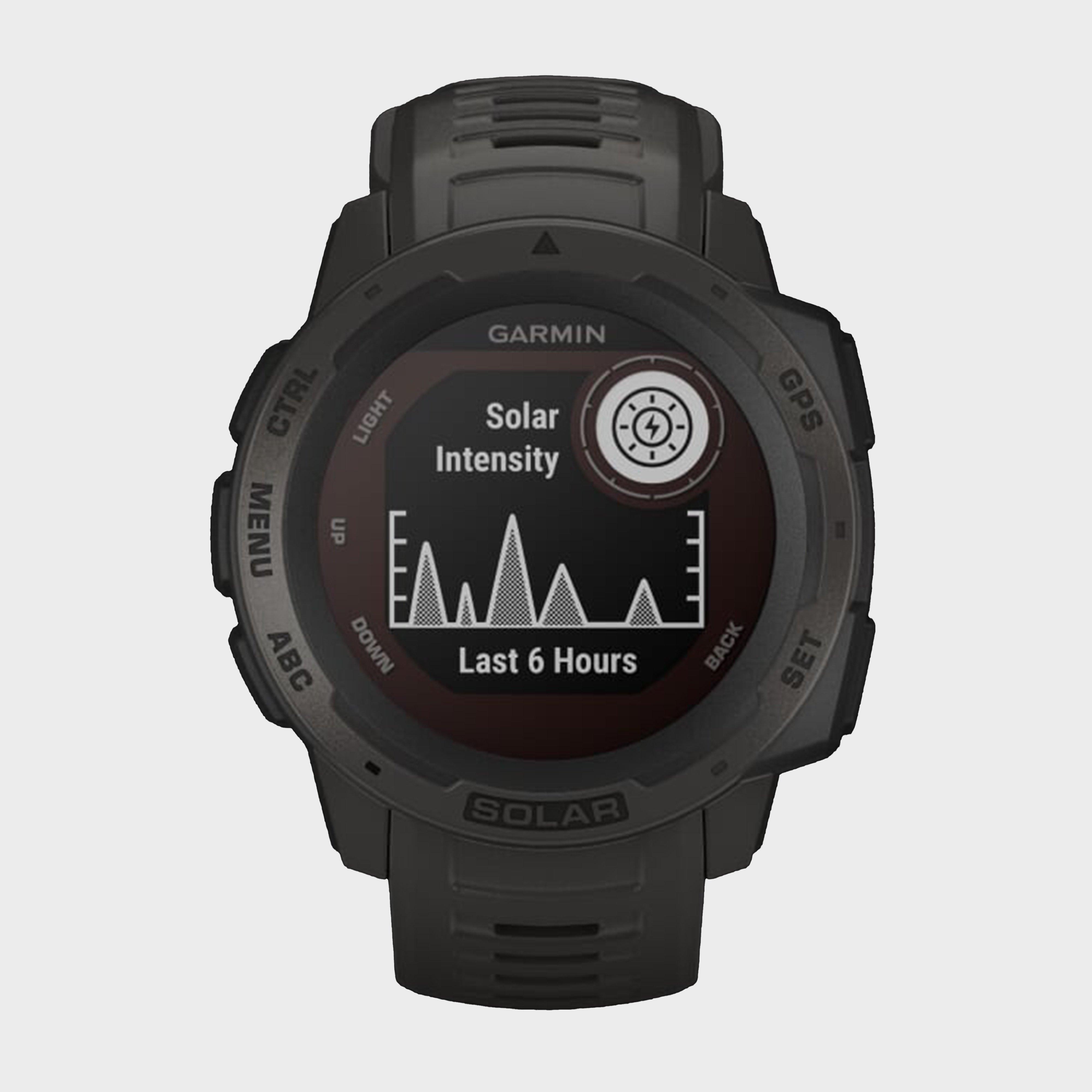 Garmin Instinct Solar Edition Multi-sport Gps Watch - Blk/blk  Blk/blk
