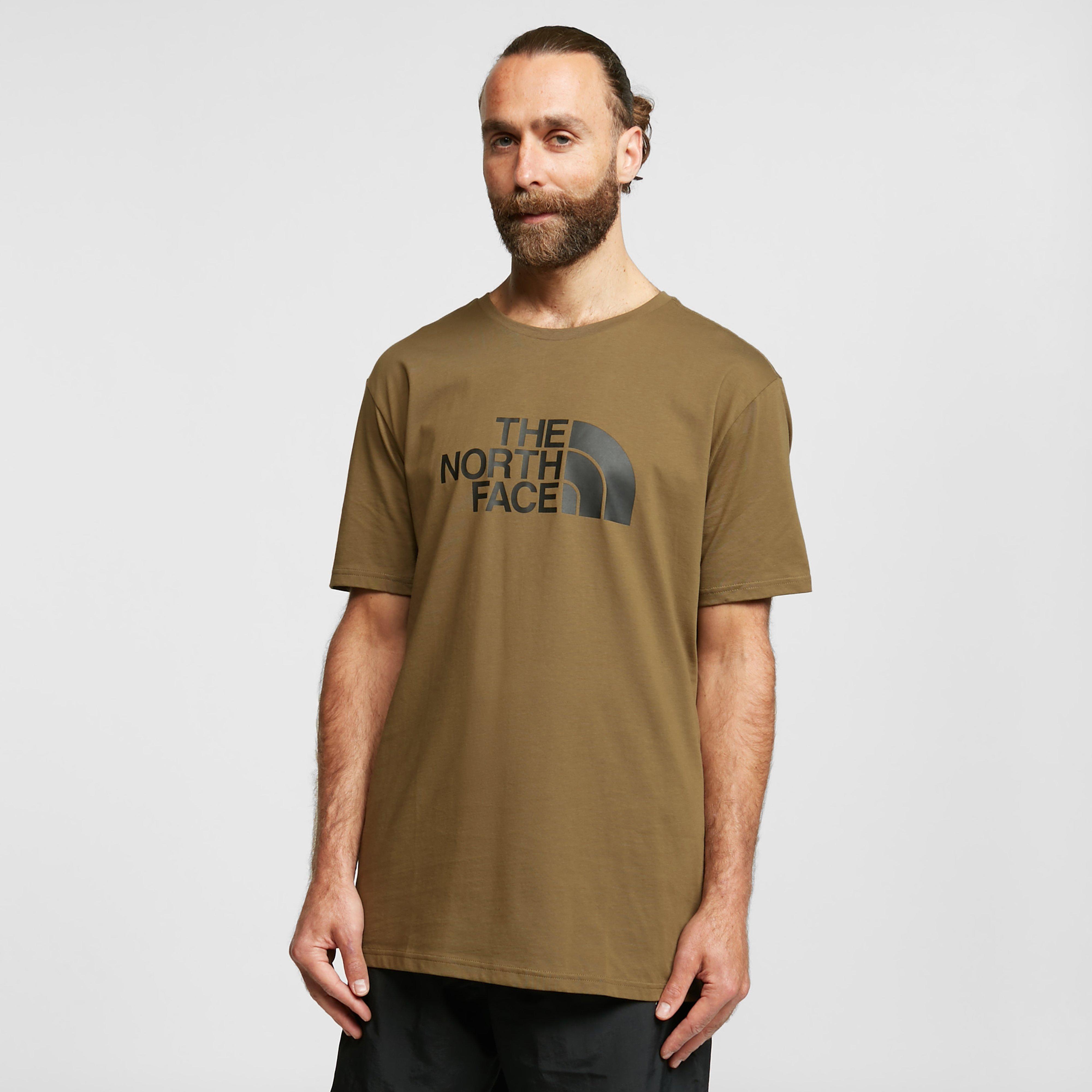 The North Face Mens Easy Short-sleeve T-shirt - Khaki/khaki  Khaki/khaki