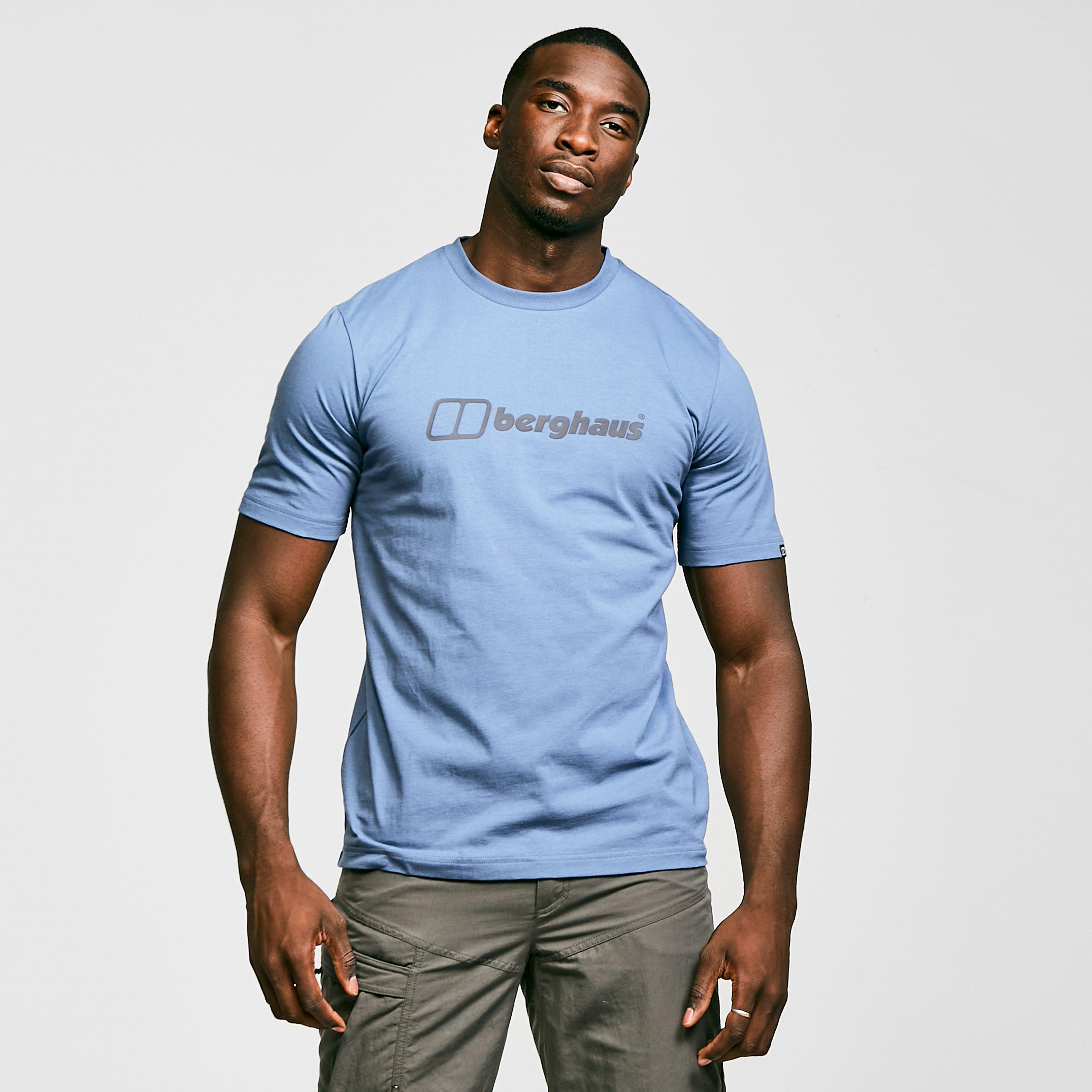 Berghaus Mens Colour Logo T-shirt - Blue/blue  Blue/blue