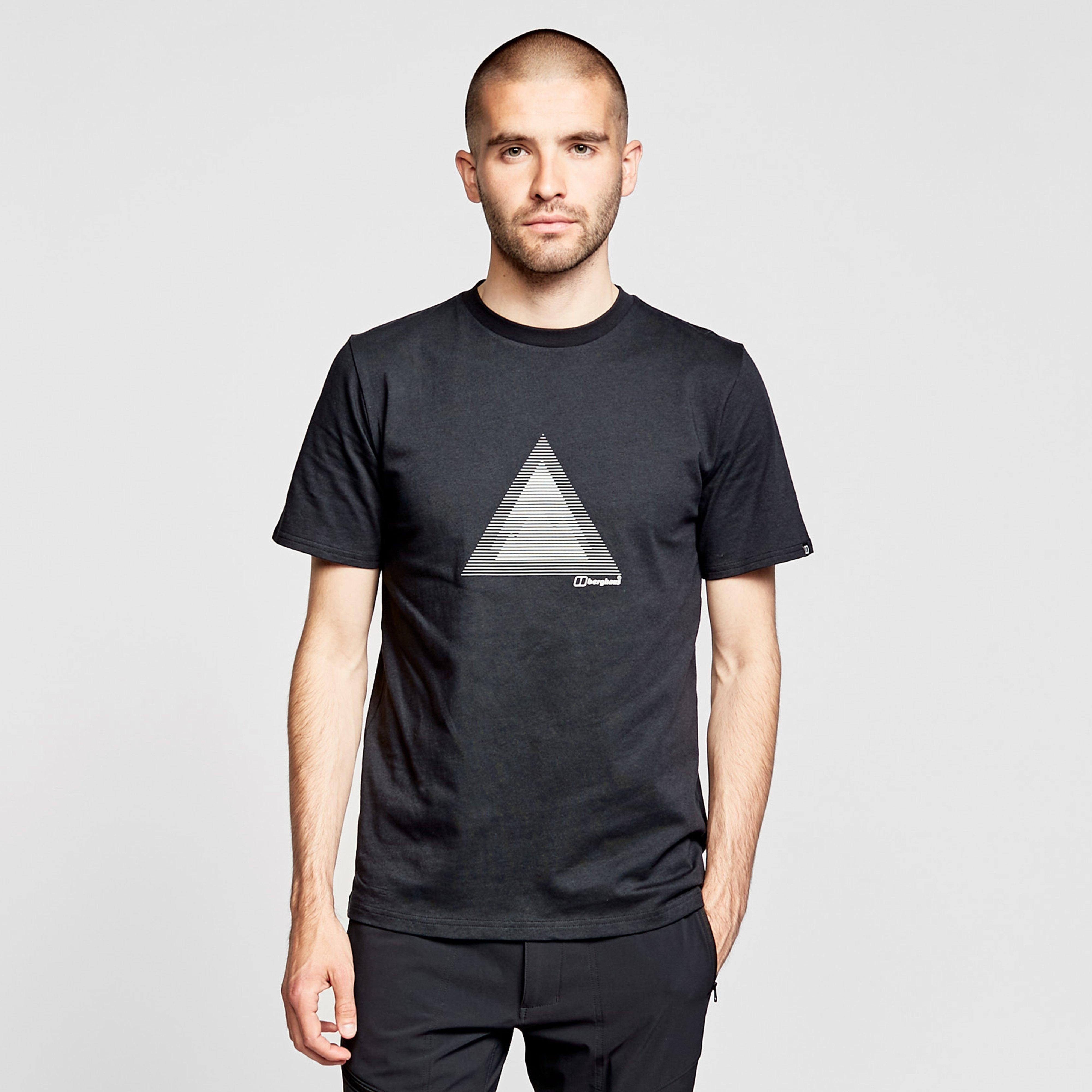 Berghaus Mens Modern Mountain T-shirt - Black/black  Black/black