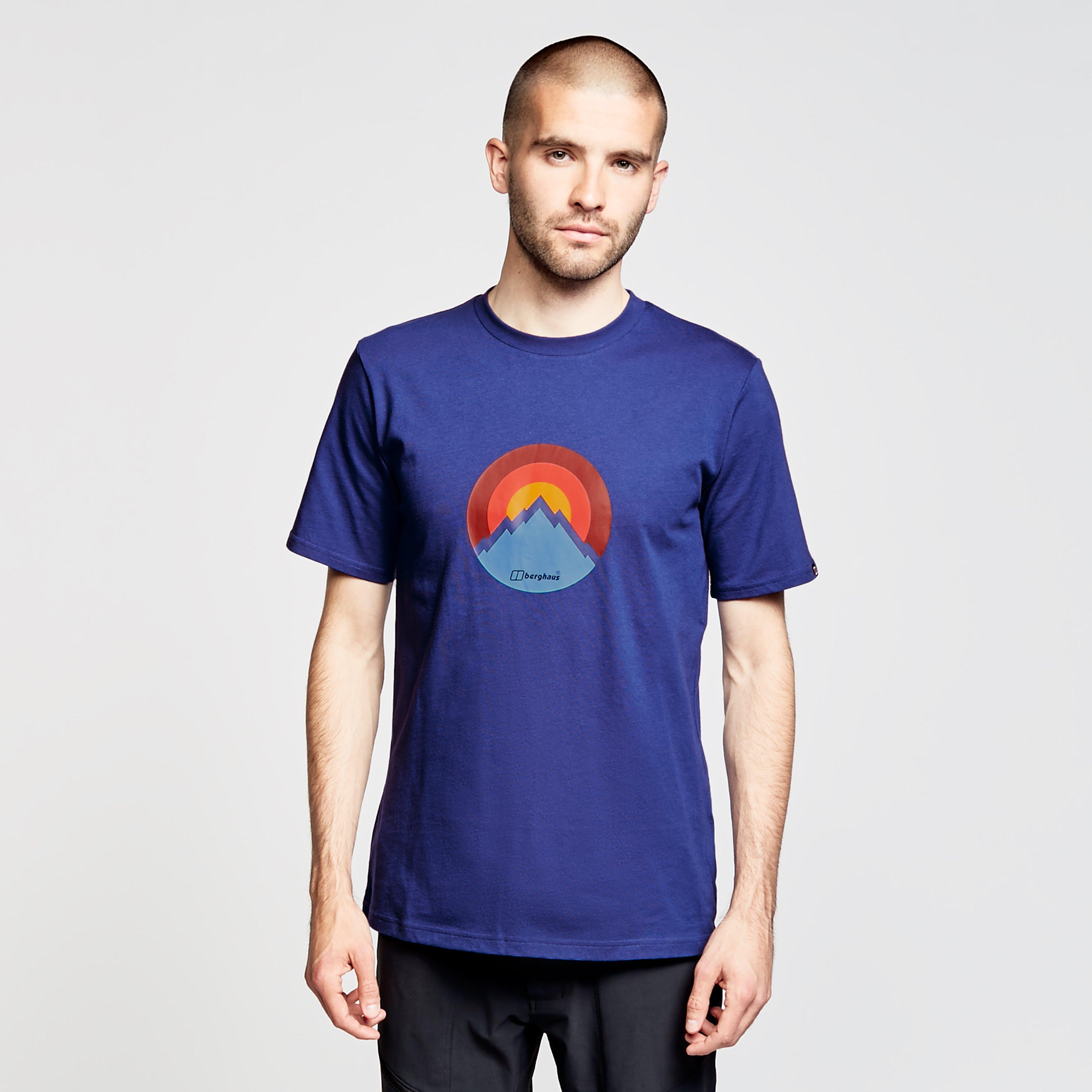 Berghaus Mens Modern Mountain T-shirt - Blue/blue  Blue/blue