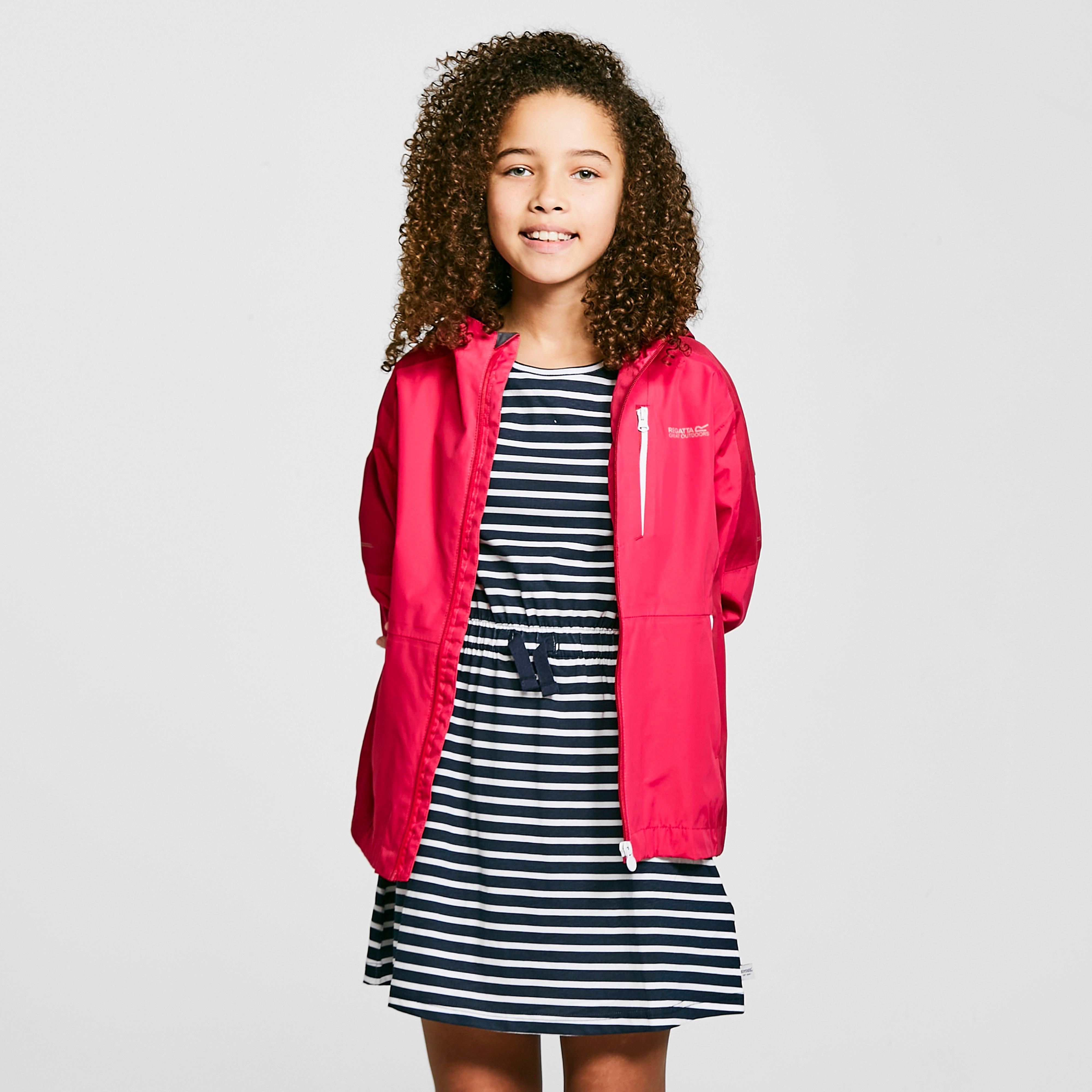 Regatta Kids Calderdale Ii Waterproof Jacket - Pink/pink  Pink/pink