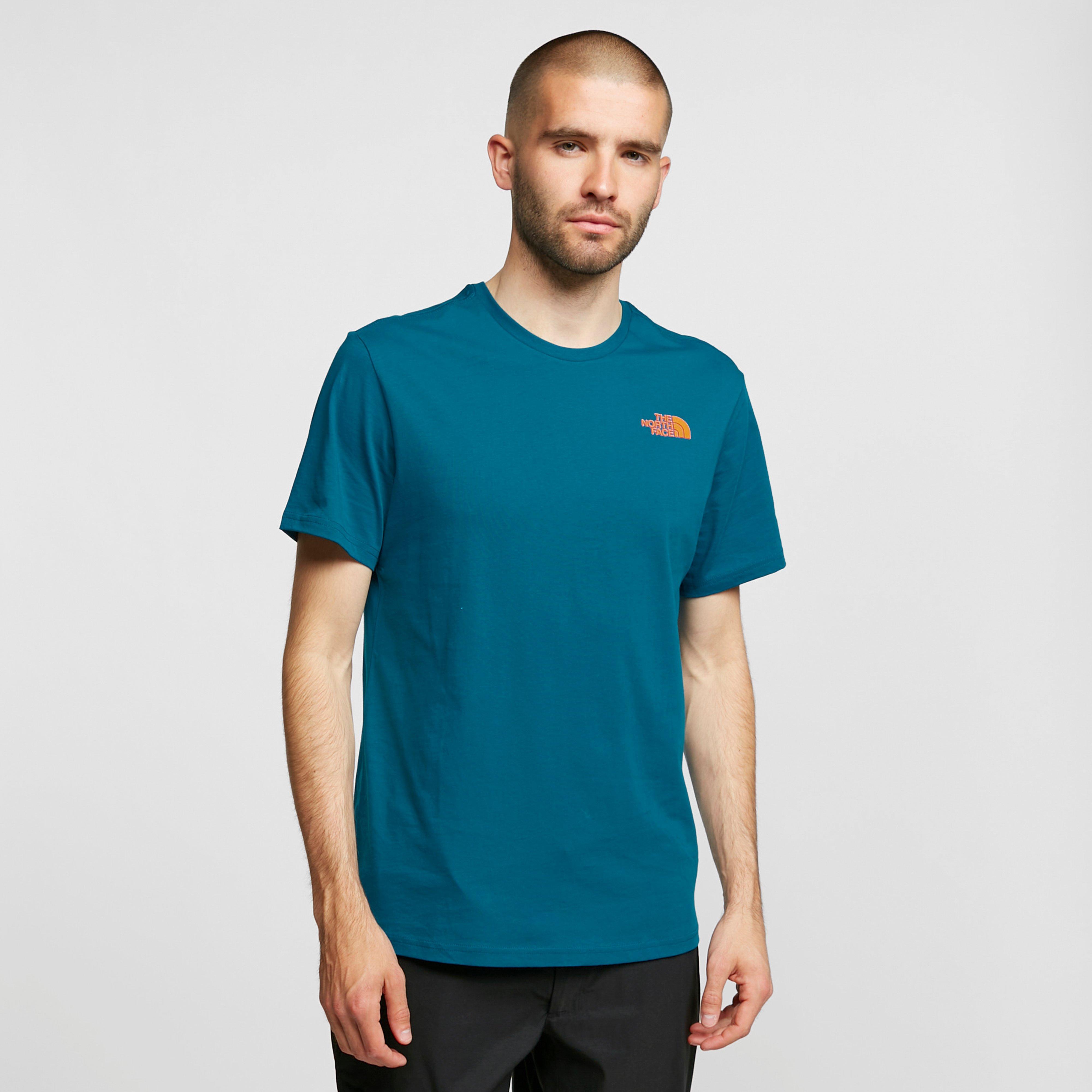 The North Face Mens Biner 3 T-shirt - Blue/dbl  Blue/dbl