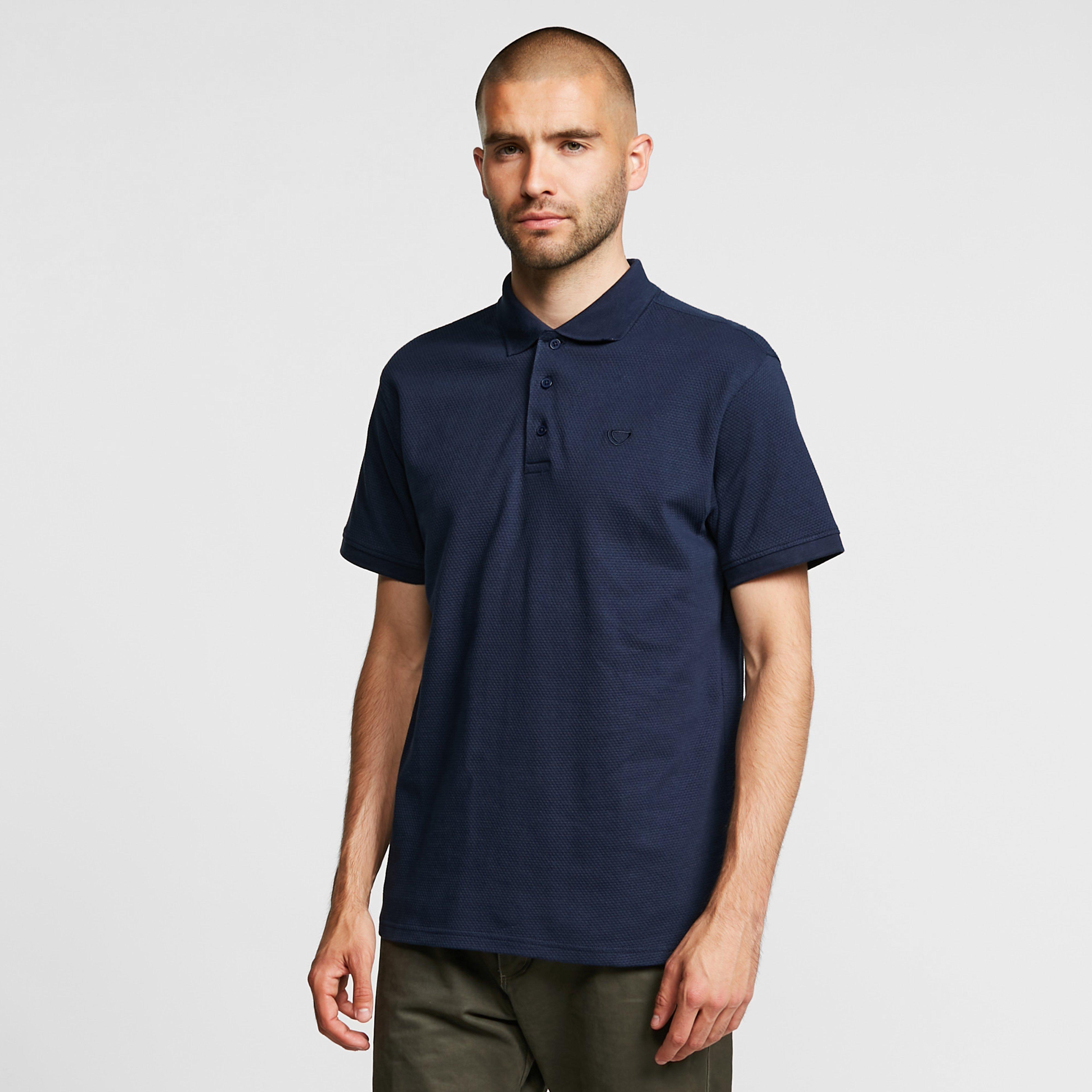 Brasher Mens Calder Polo Shirt - Navy/navy  Navy/navy