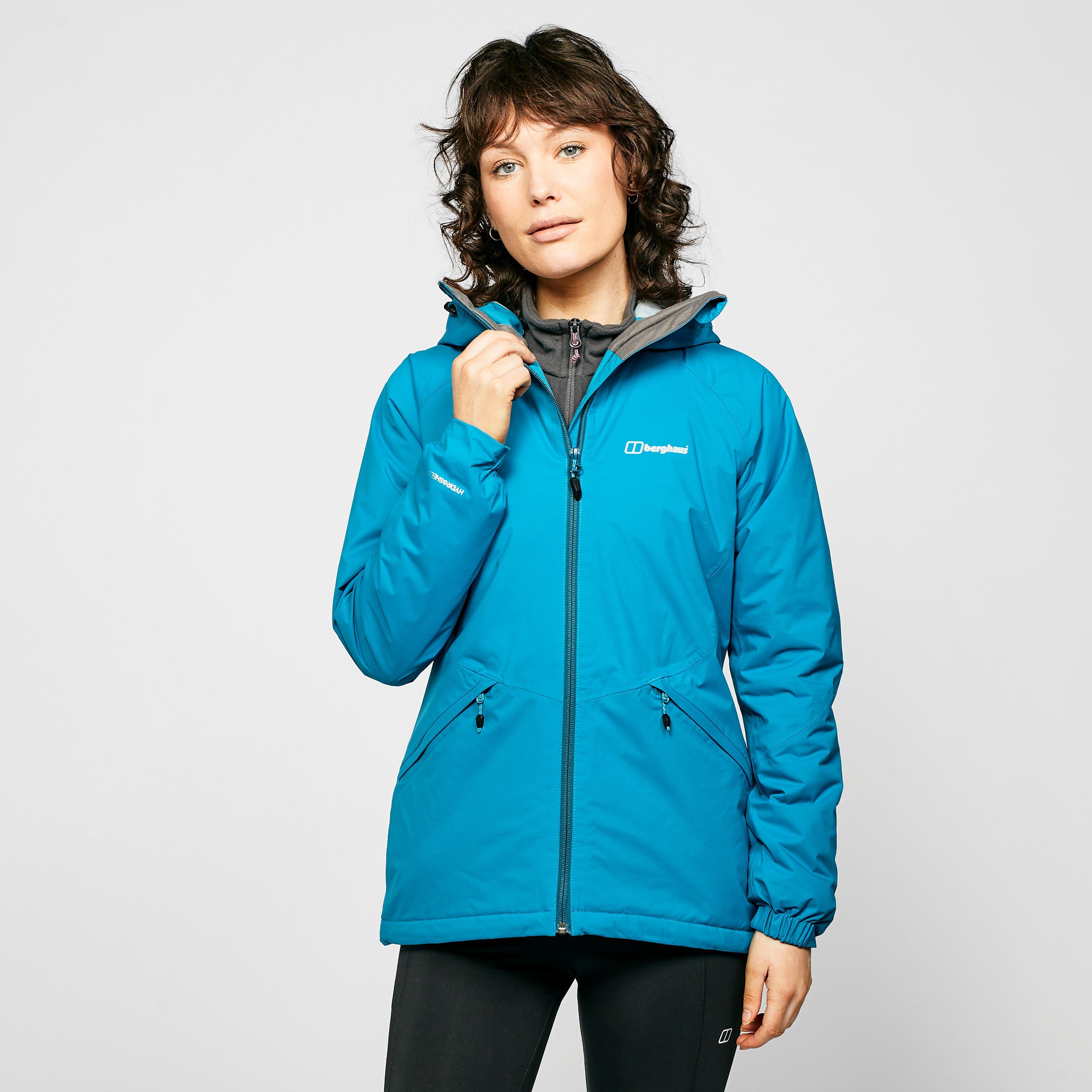Berghaus Womens Stormcloud Waterproof Jacket - Blue/af  Blue/af