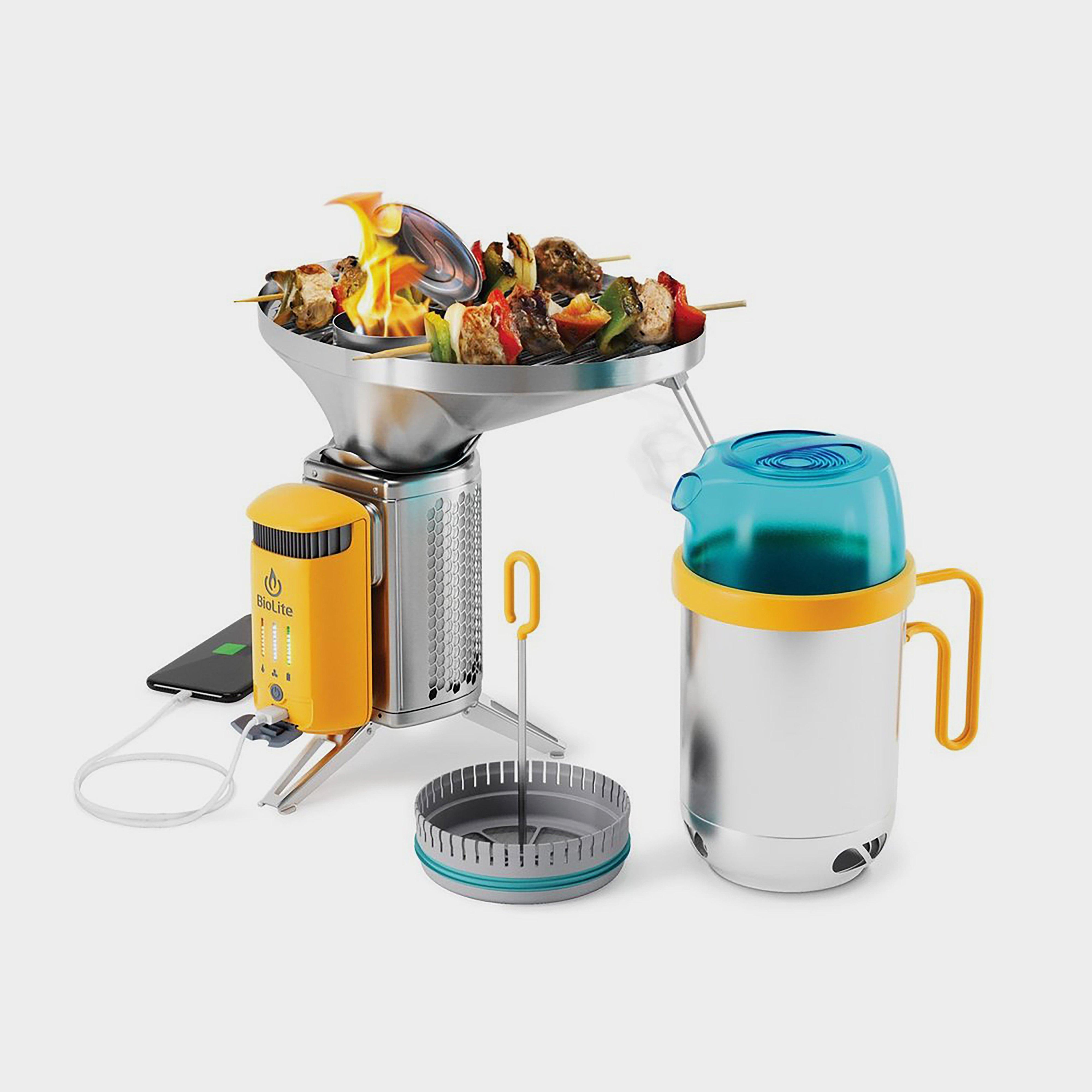 Biolite Biolite Campstove 2+ Complete Cook Kit - Silver/silver  Silver/silver