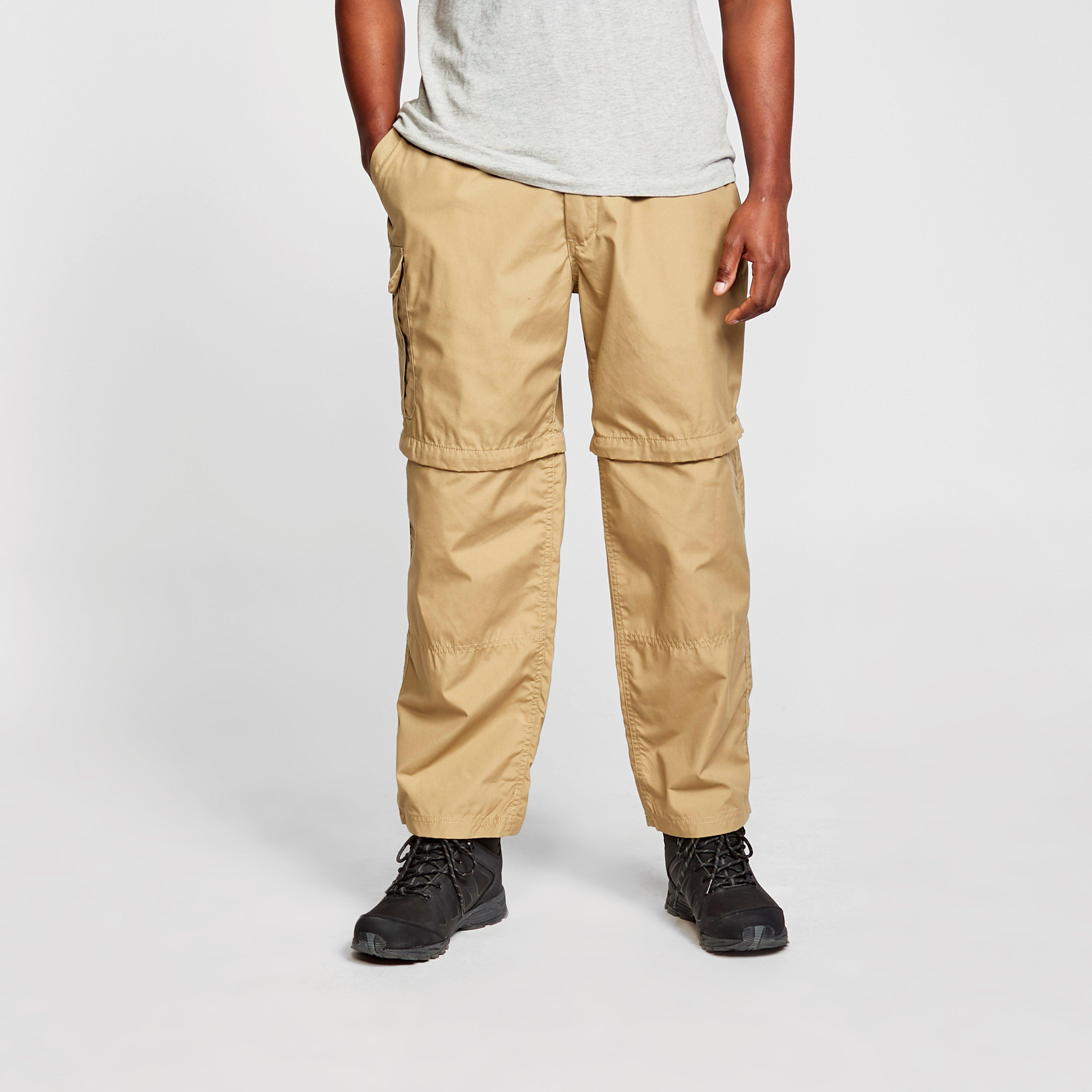 Craghoppers Mens Kiwi Convertible Trousers - Beige/bge  Beige/bge