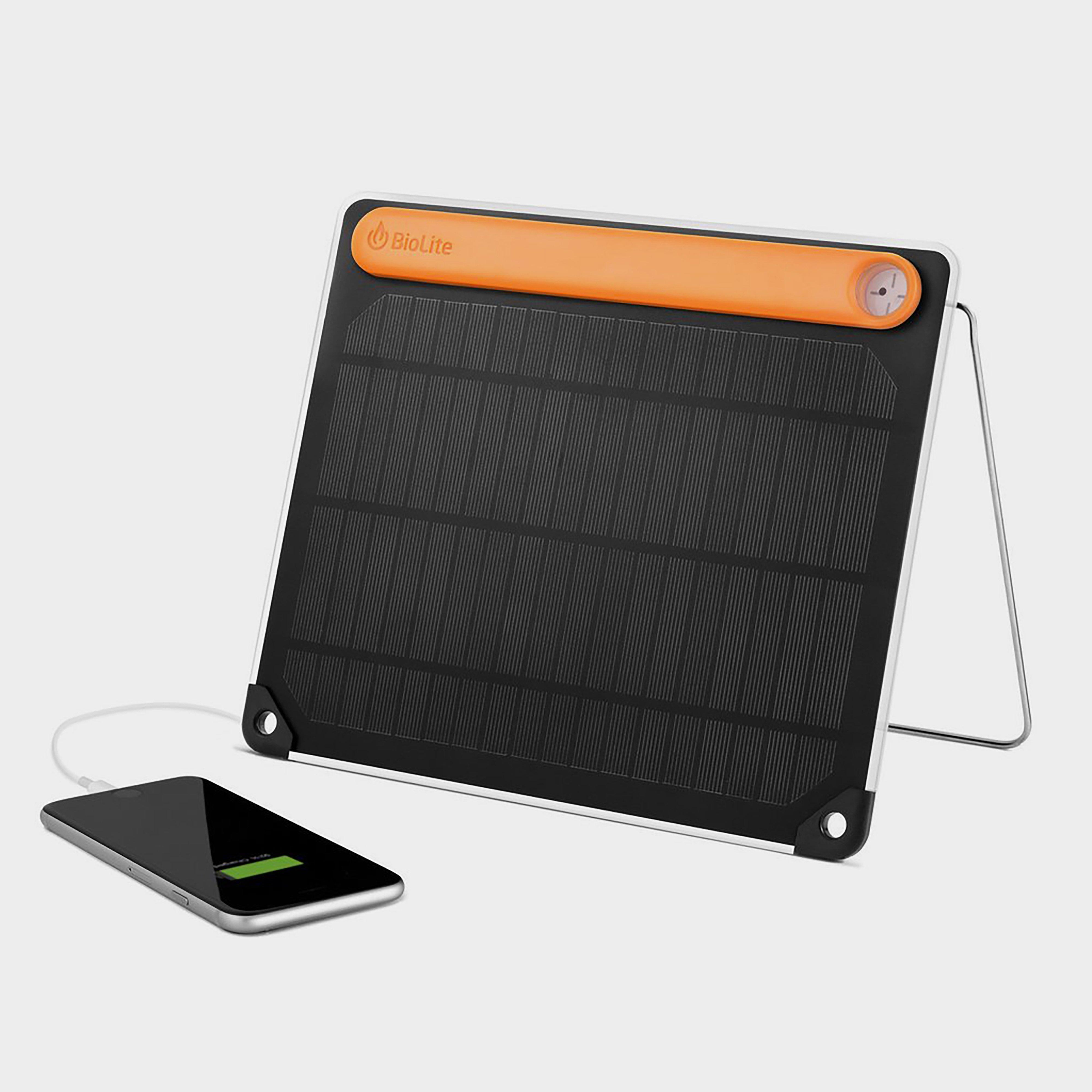 Biolite Solarpanel - Black/orange  Black/orange