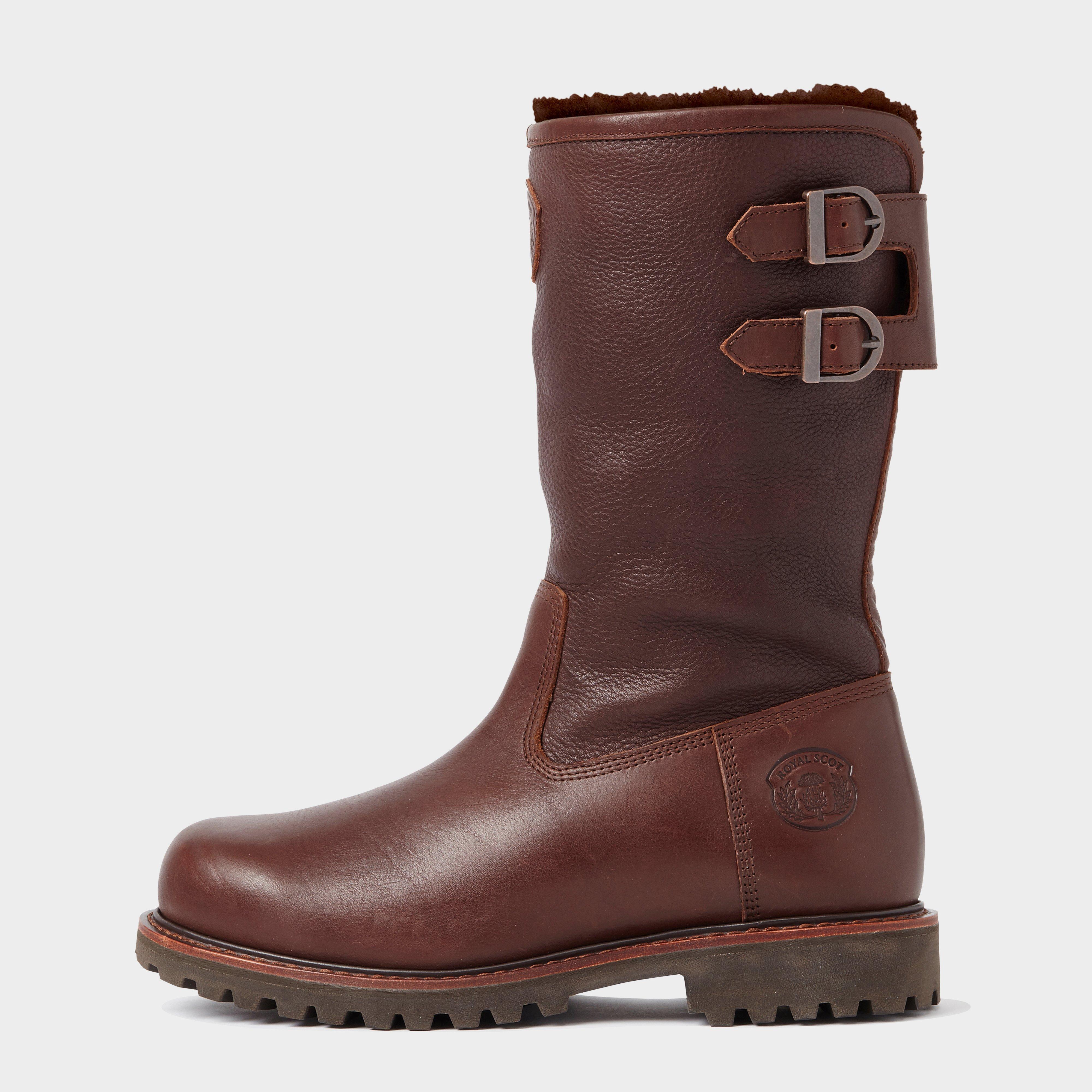 Royal Scot Mens Nevis Boot - Brown/brown  Brown/brown
