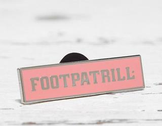 for Footpatrol 'Footpatrill' Pin Badge