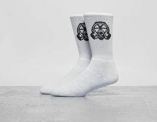 Gas Mask Logo Socks
