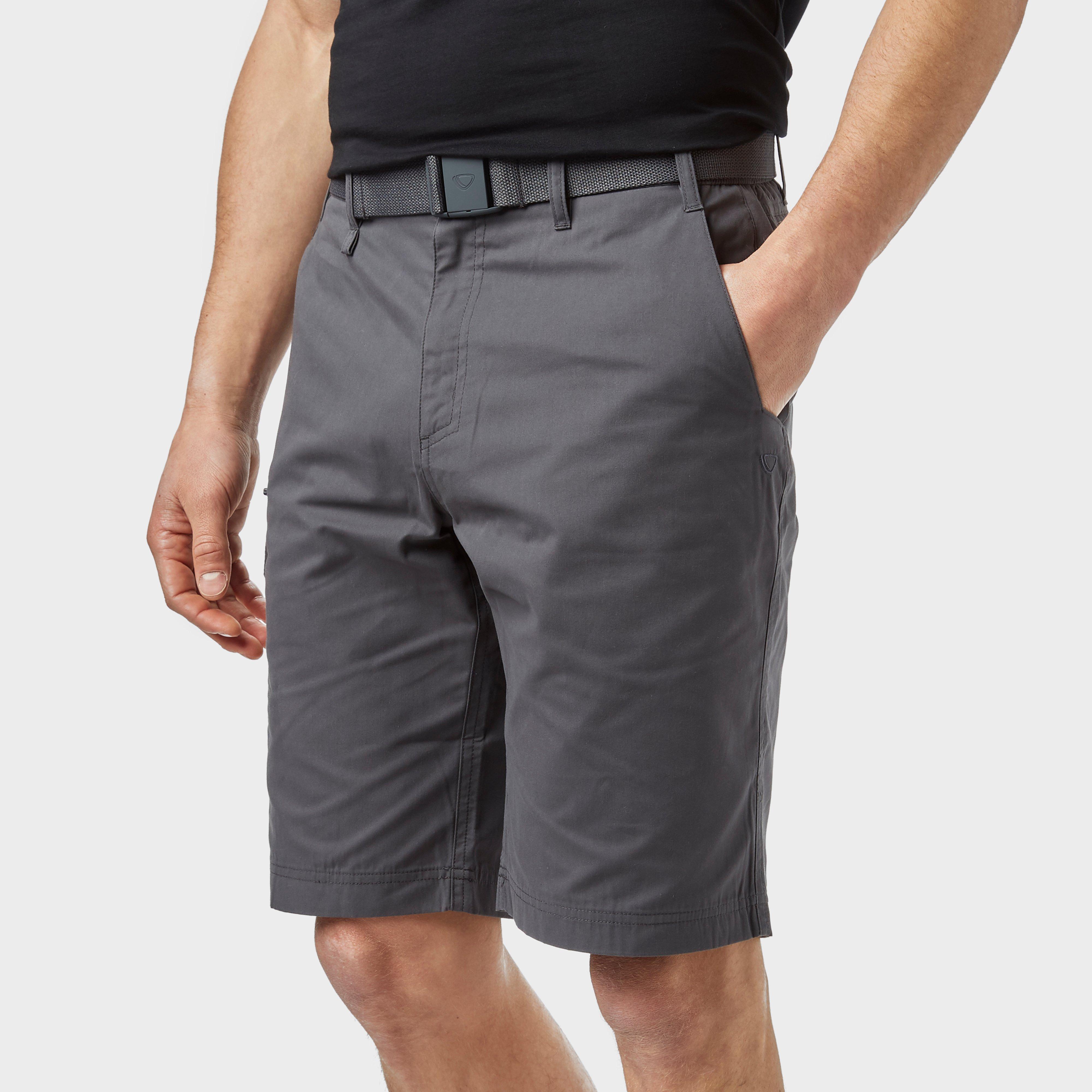 Brasher Men's Shorts, Grey/MGY
