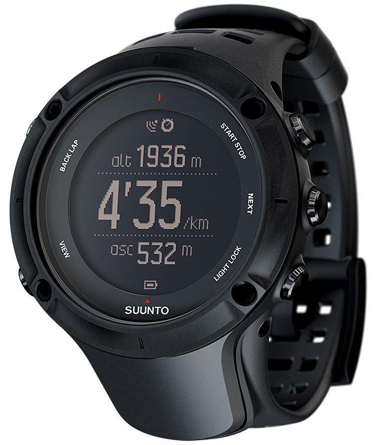 Suunto Ambit3 Peak GPS Watch / HRM, BLACK/BLACK