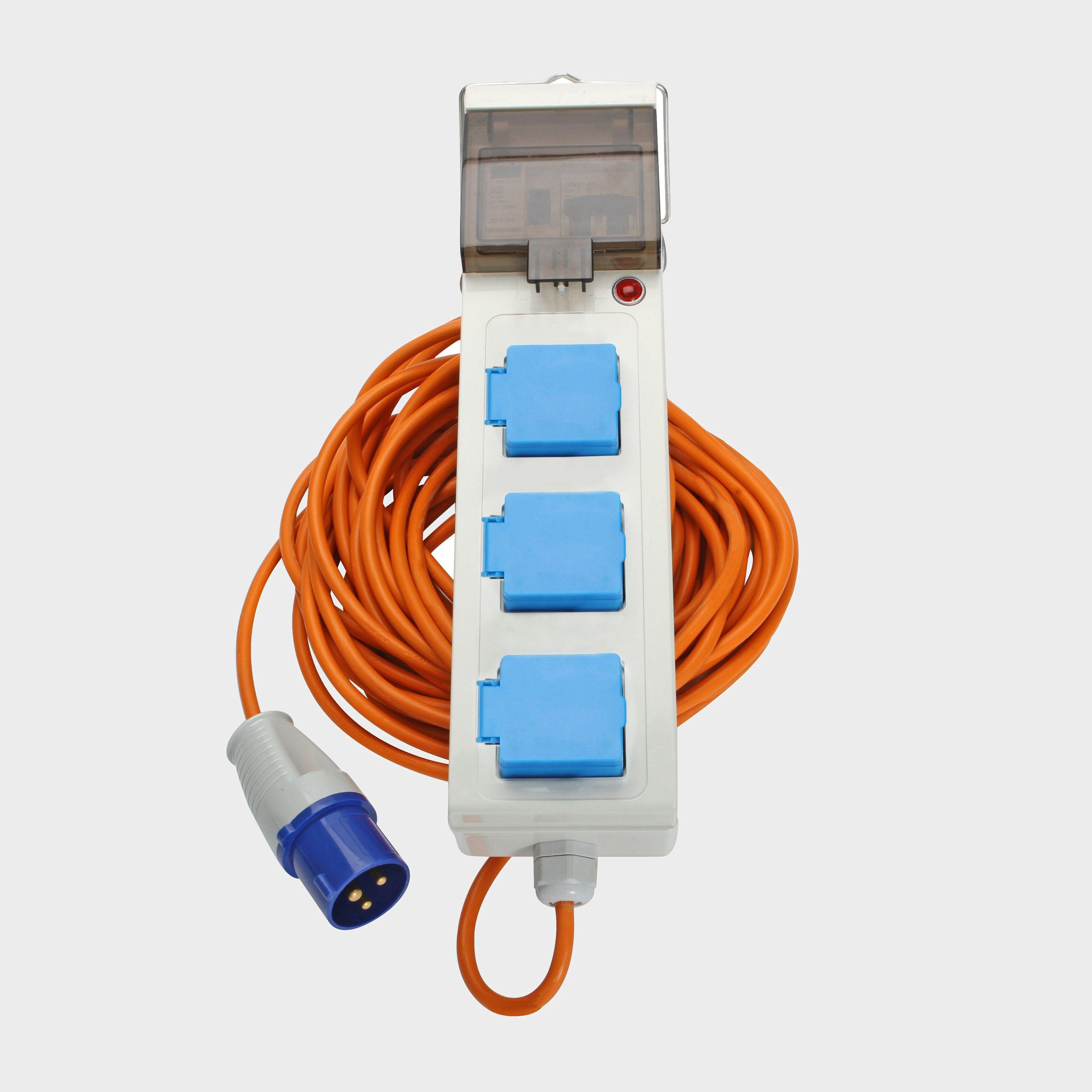 Eurohike Mobile Mains Kit 15m, MULTI