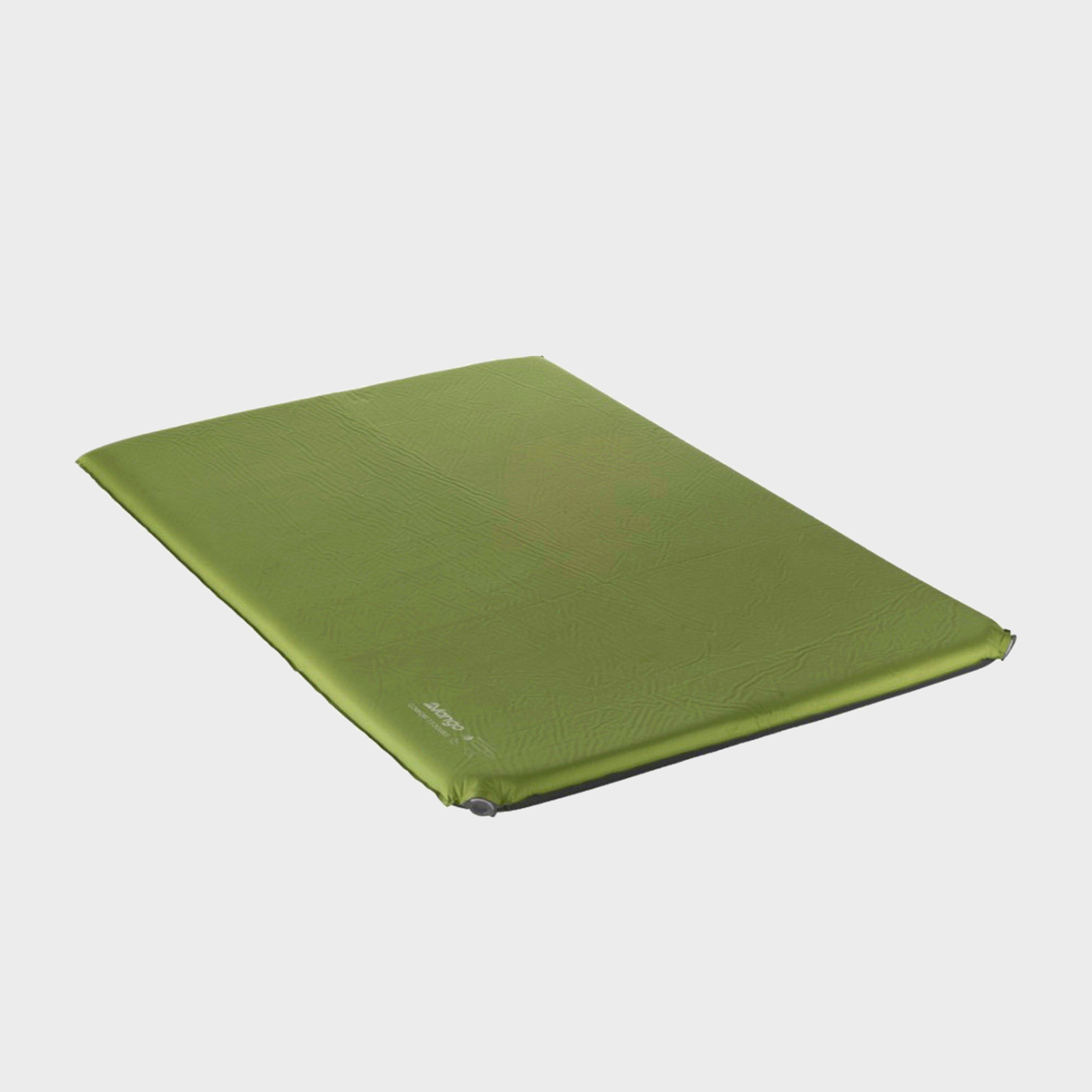 VANGO Comfort 7.5 Double Sleeping Mat, GREEN/GREEN
