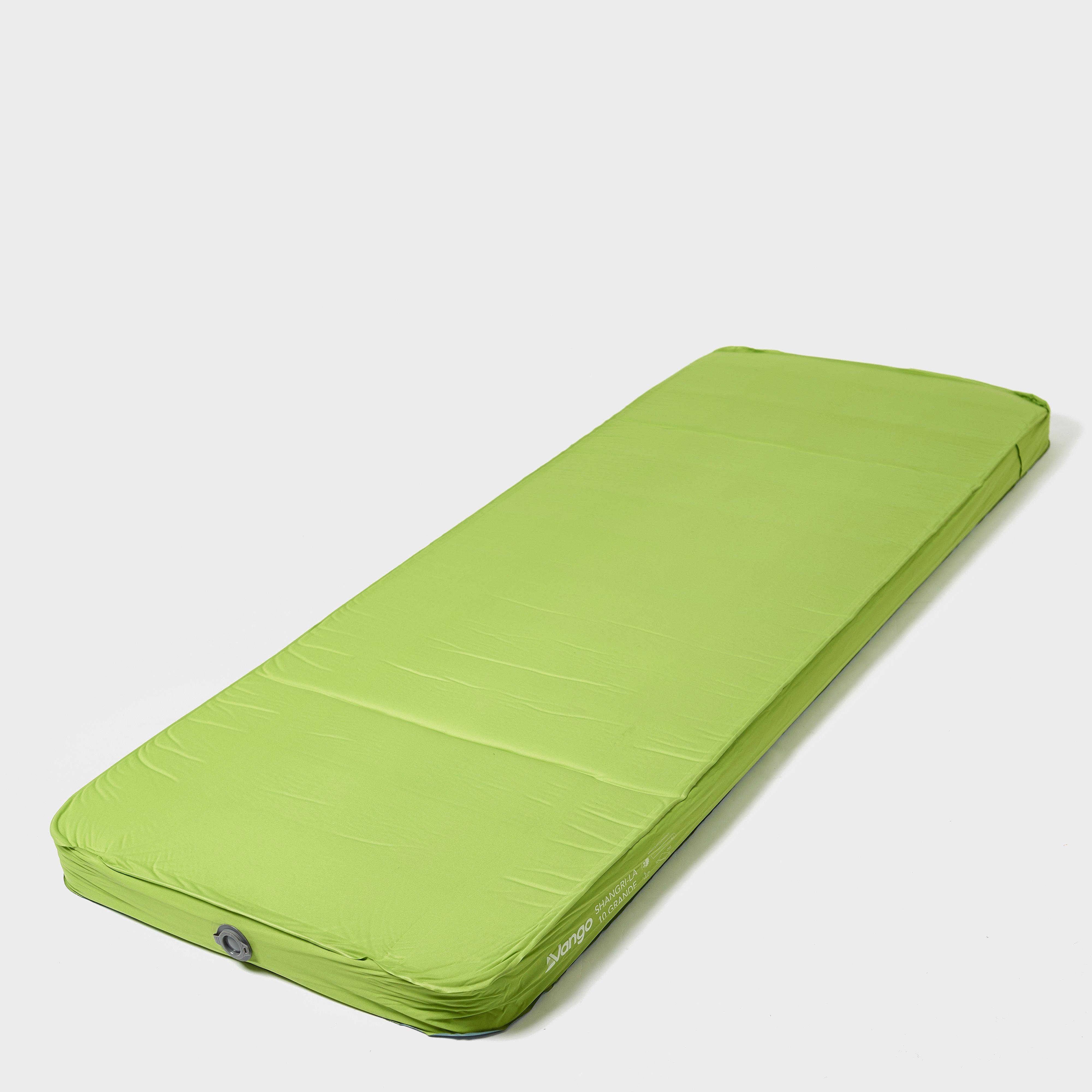 VANGO Shangri-La Sleeping Mat, Green/Green