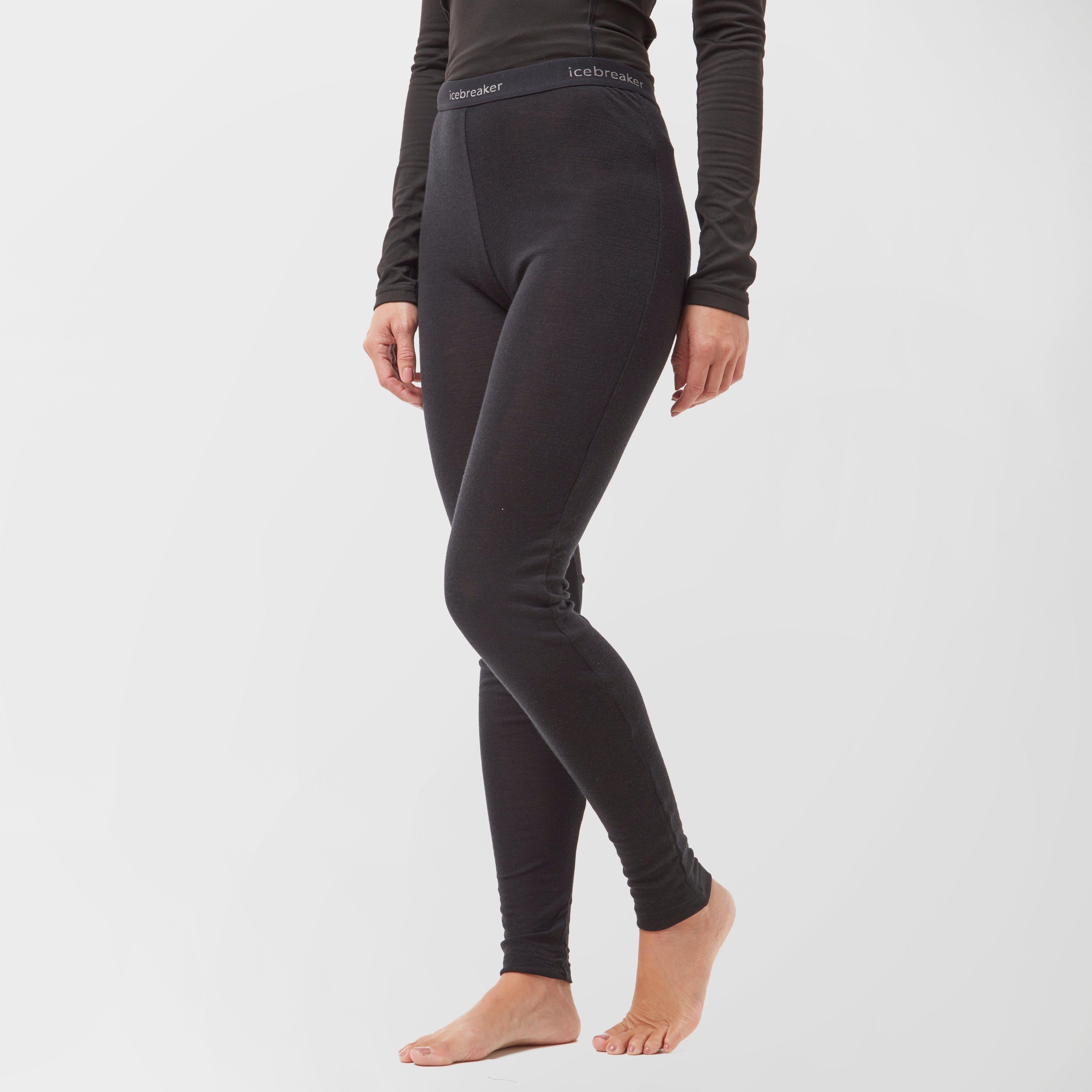 Icebreaker Women's Everyday Leggings, BLACK/BLACK