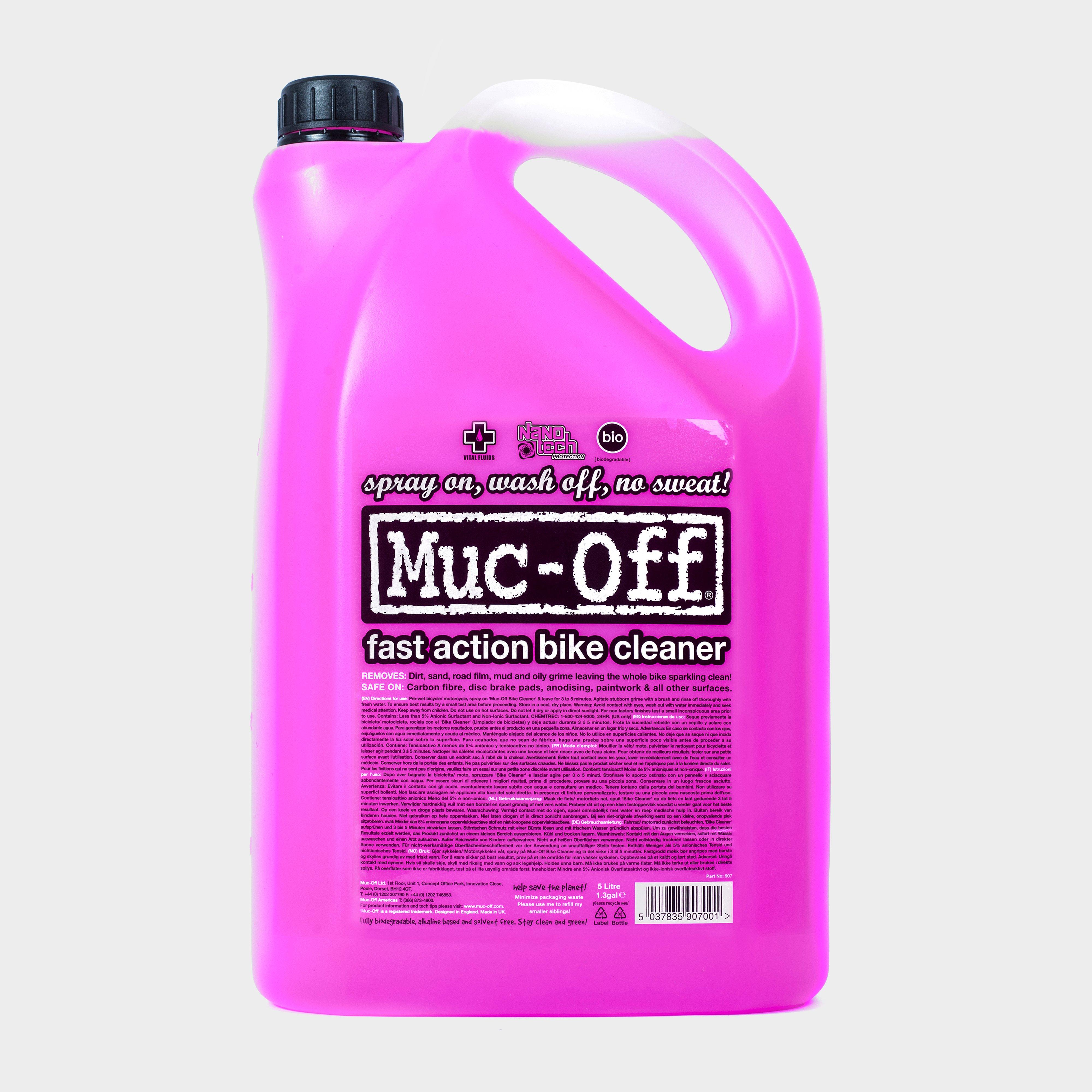 Muc Off Bike Cleaner- 5 Litres, PINK/CLEANER