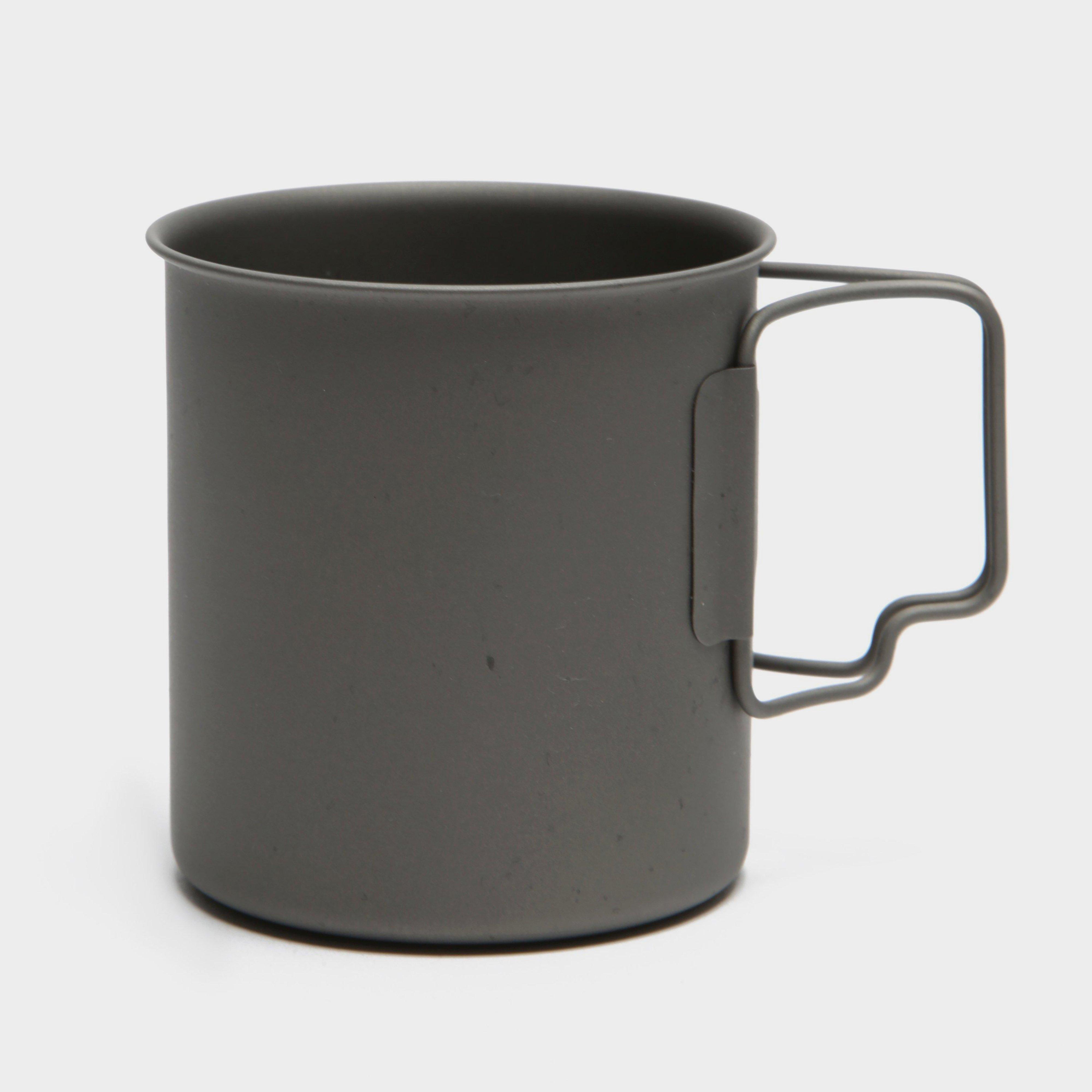 LIFEVENTURE Titanium Mug, Black