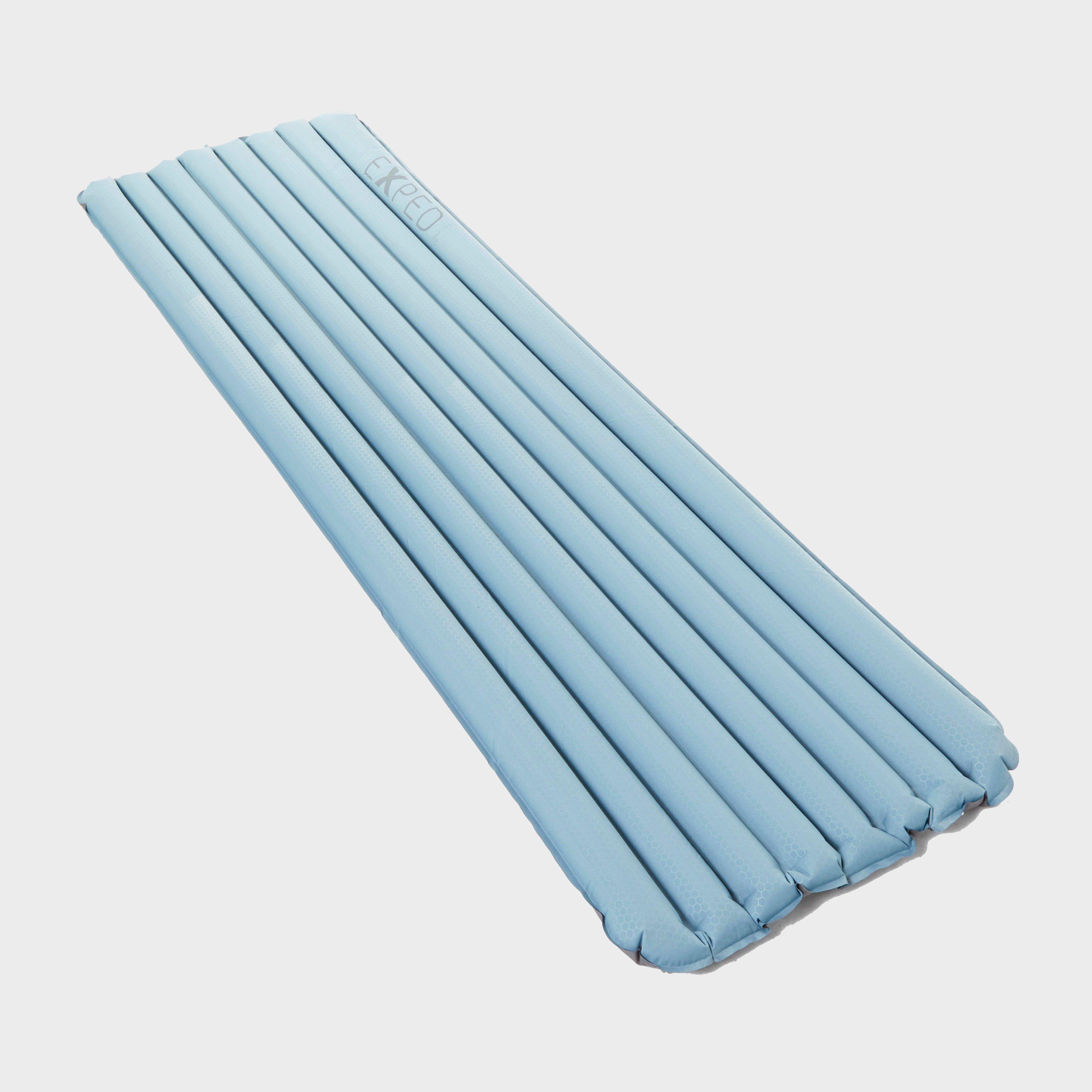 EXPED Airmat Lite Plus 5 Inflatable Sleeping Mat, Light Blue/Light Blue