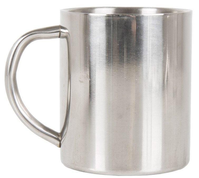 LIFEVENTURE Stainless Steel Camping Mug, Sliver/ASSOR