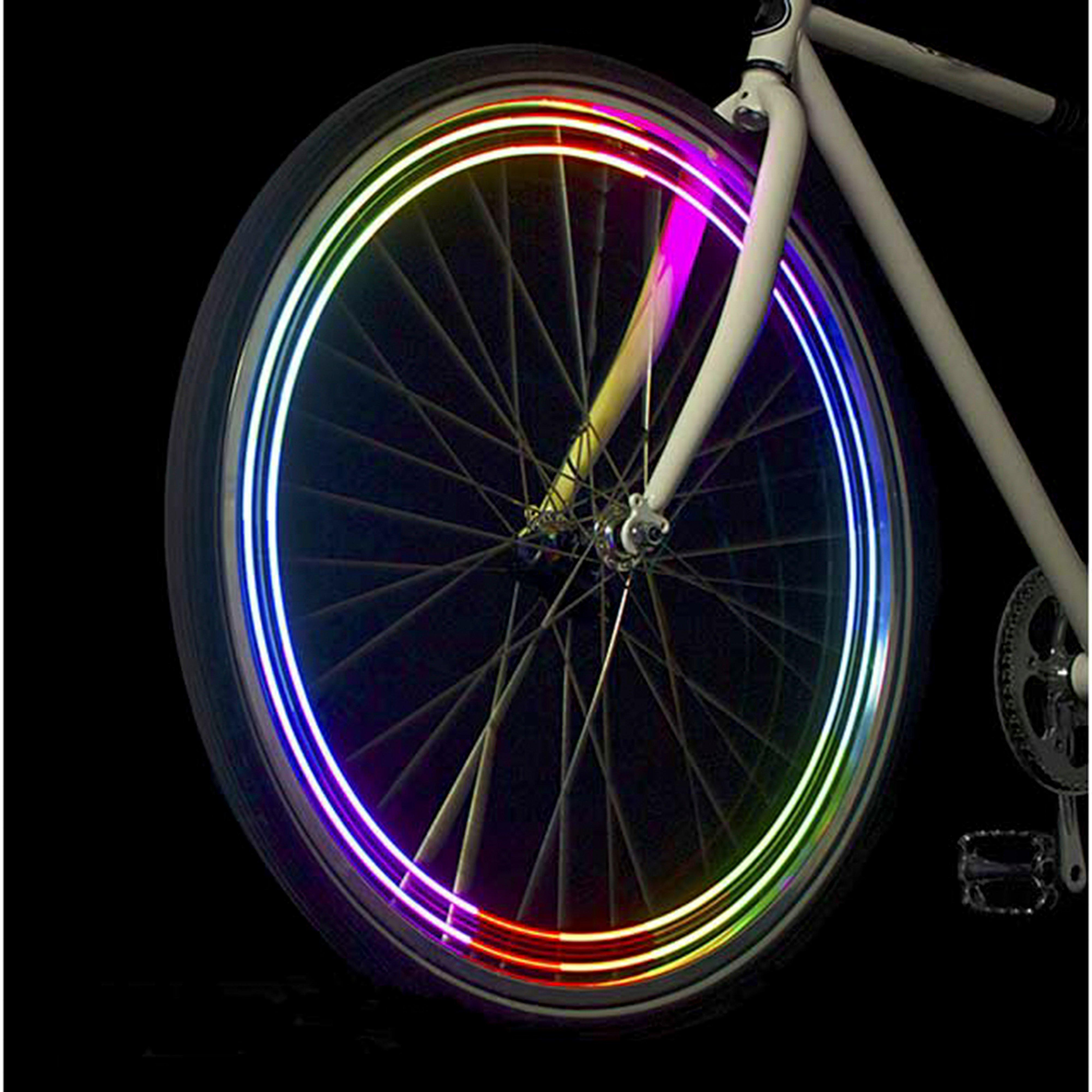 Monkeylectric Bike Wheel Light, Multicolour