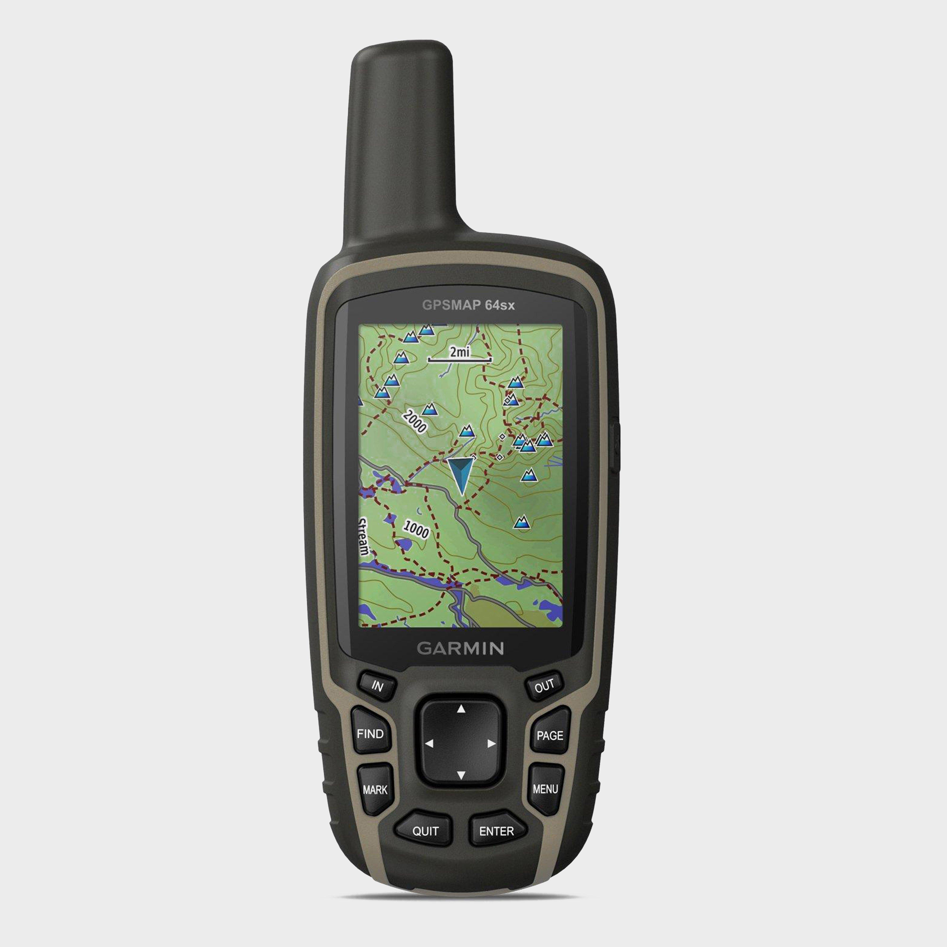 Garmin GPSMAP 64sx Handheld GPS (with BirdsEye Select Great Britain PLUS mapping), BLACK/GB