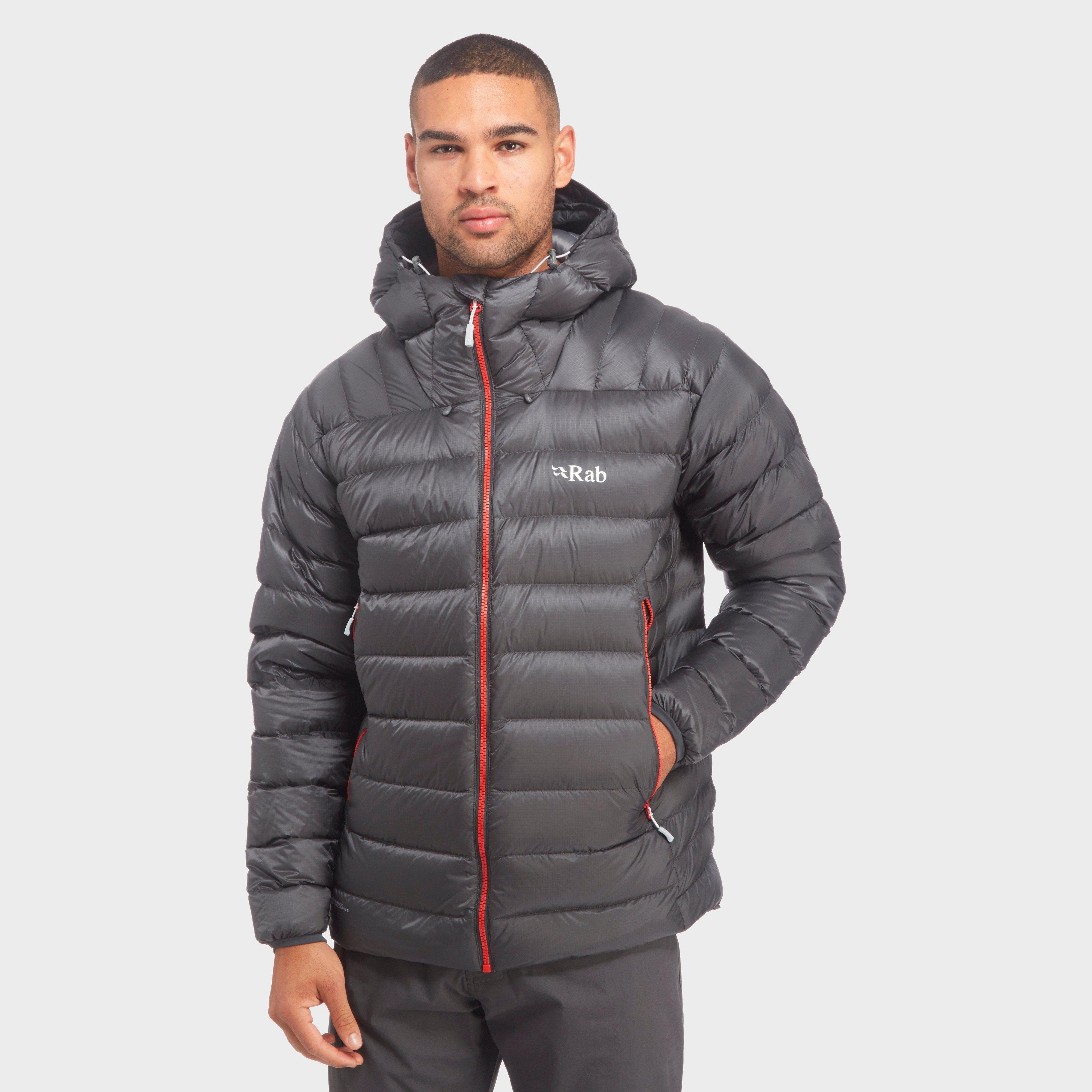 Rab Men's Electron Down Jacket, Grey/GRY