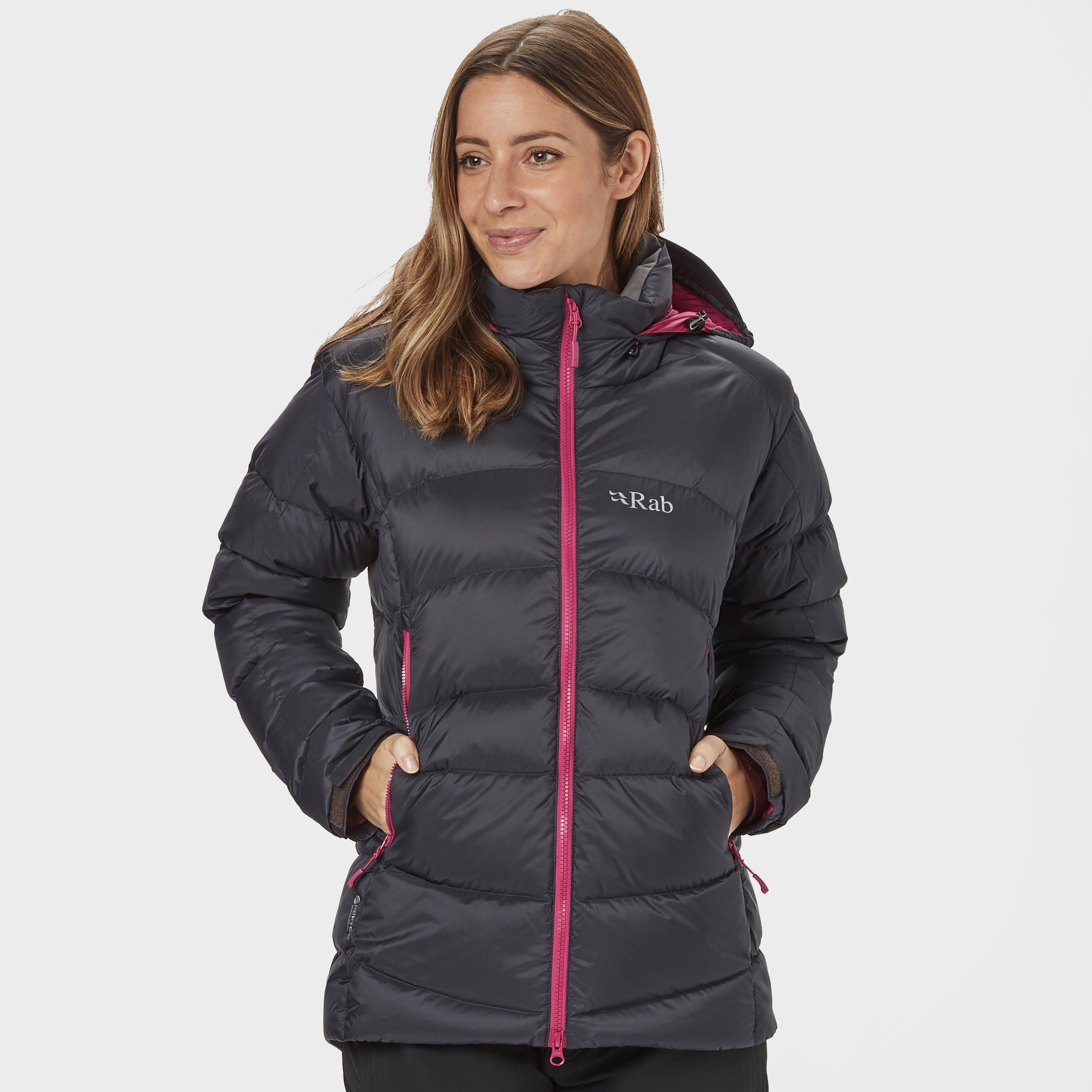 Rab Women's Ascent Down Jacket, BELUGA/DGY