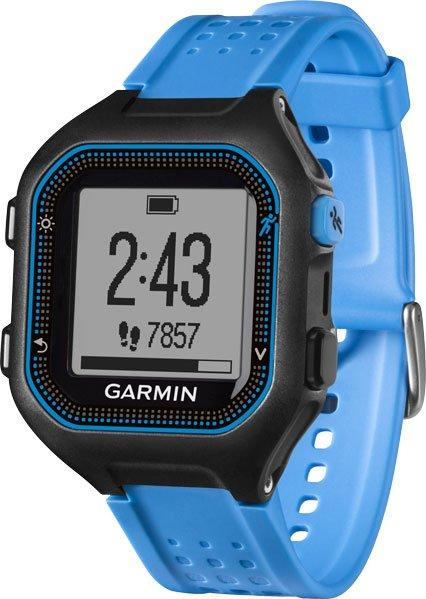 Garmin Forerunner 25 GPS Running Watch (Small), BLACK-BLUE/BLK