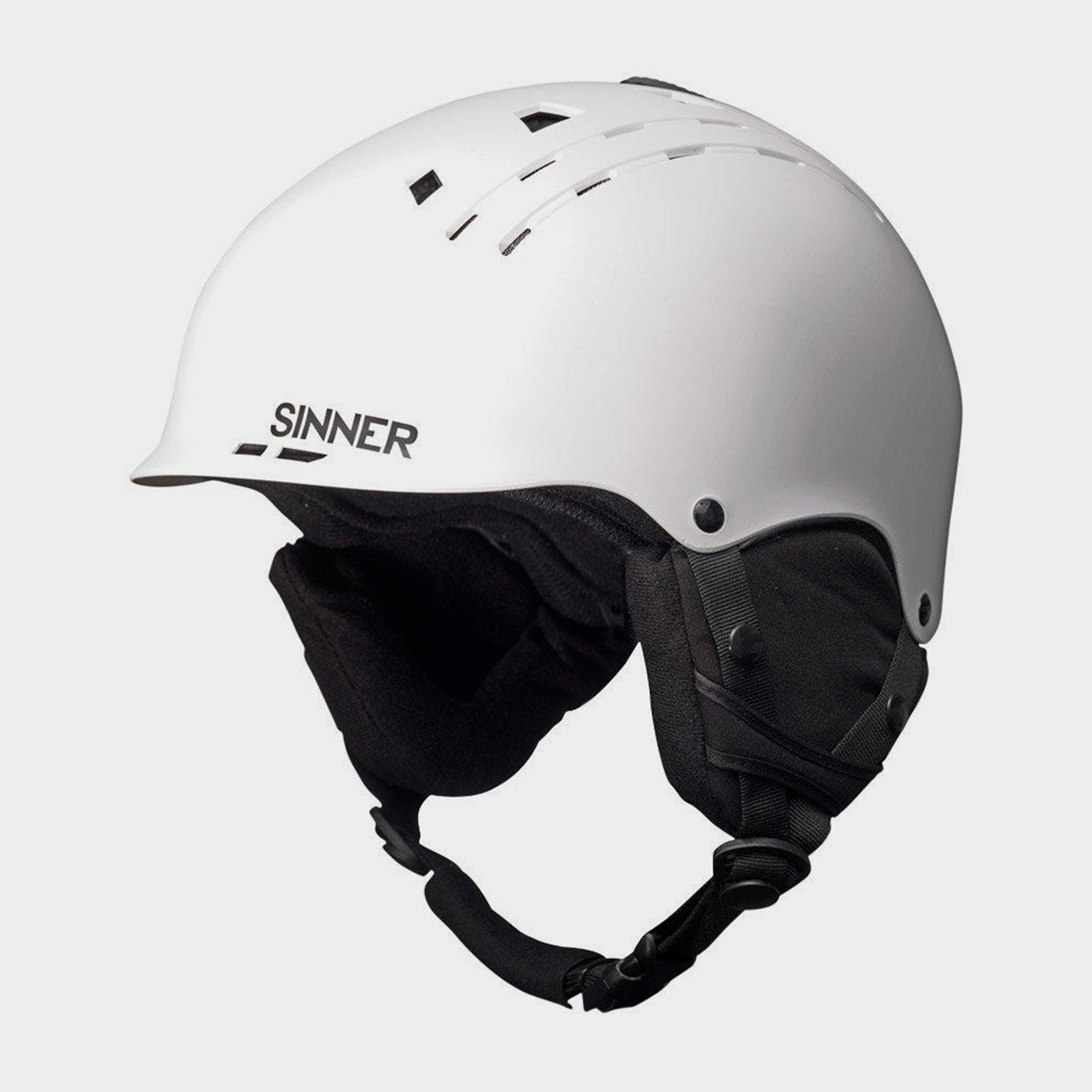 Sinner Pincher Helmet, White/WHT
