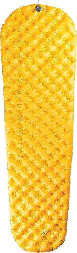 Sea To Summit Ultralight Sleeping Mat (with free Air Stream Pump, YELLOW/REG