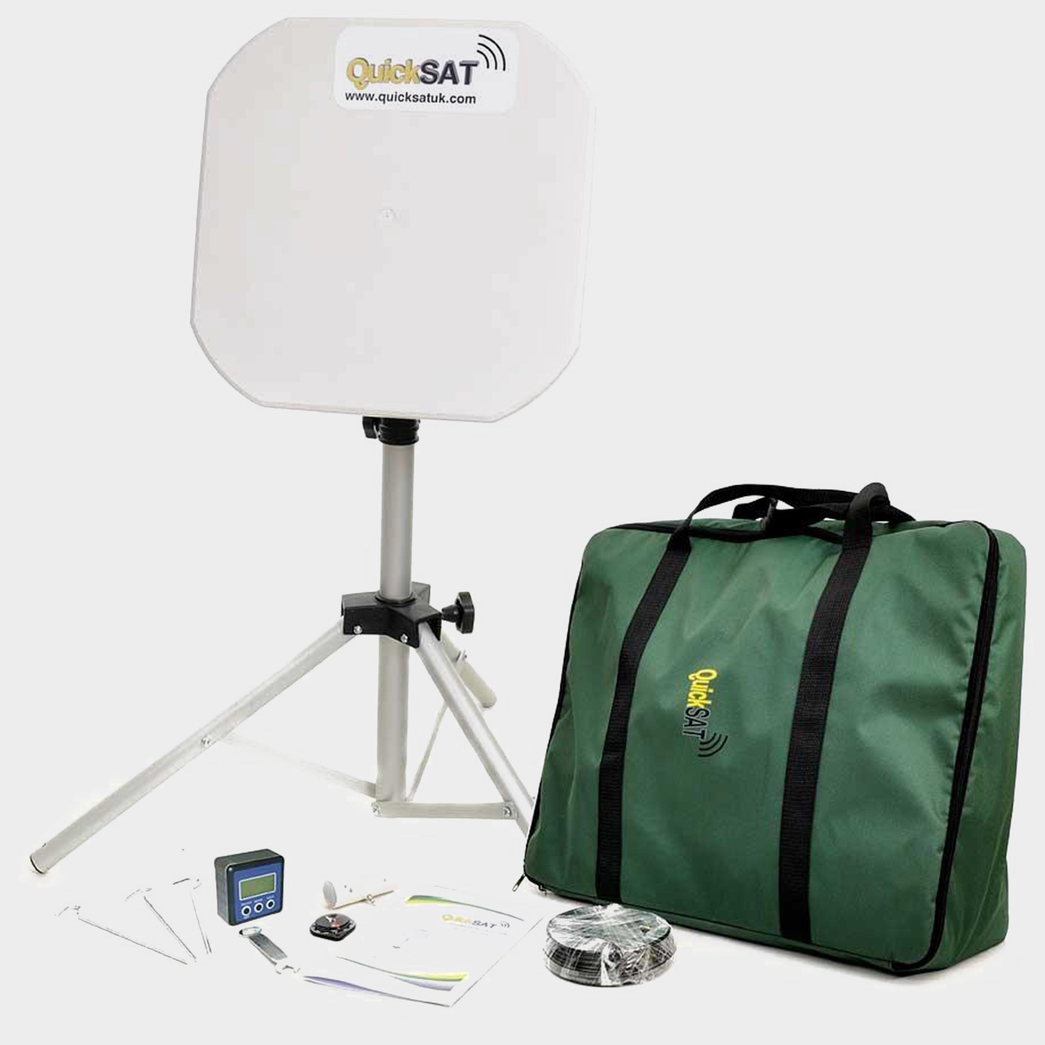 Falcon QS65 Portable Satellite TV System, NOCOLOUR/SYSTEM