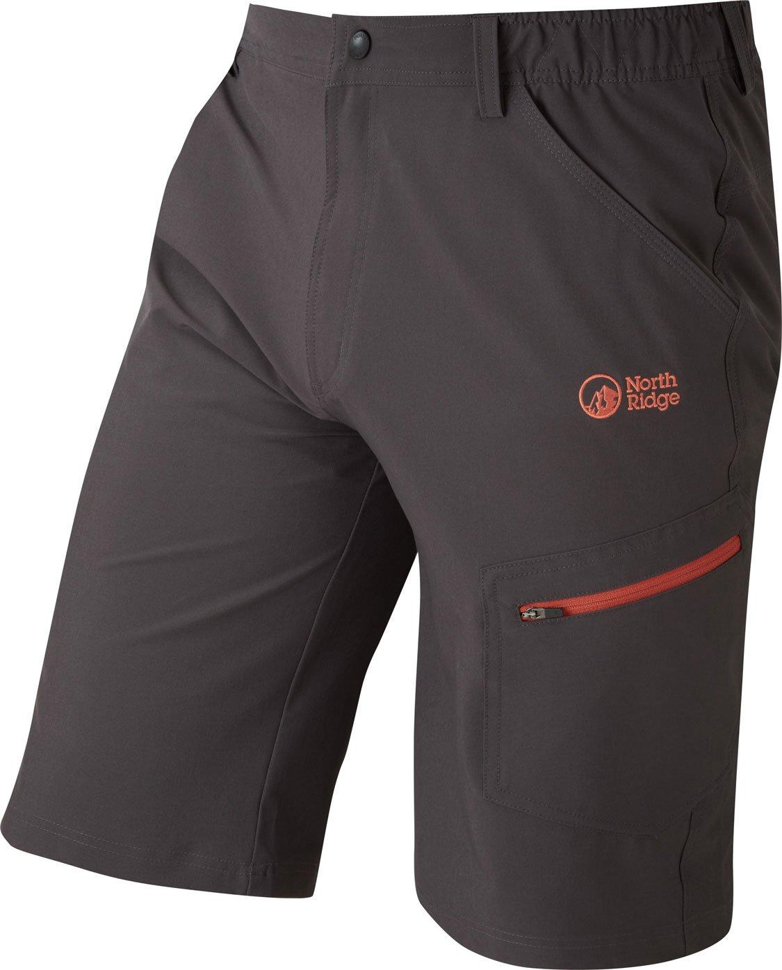 North Ridge Men's Yangon Shorts, BLACK/MENS