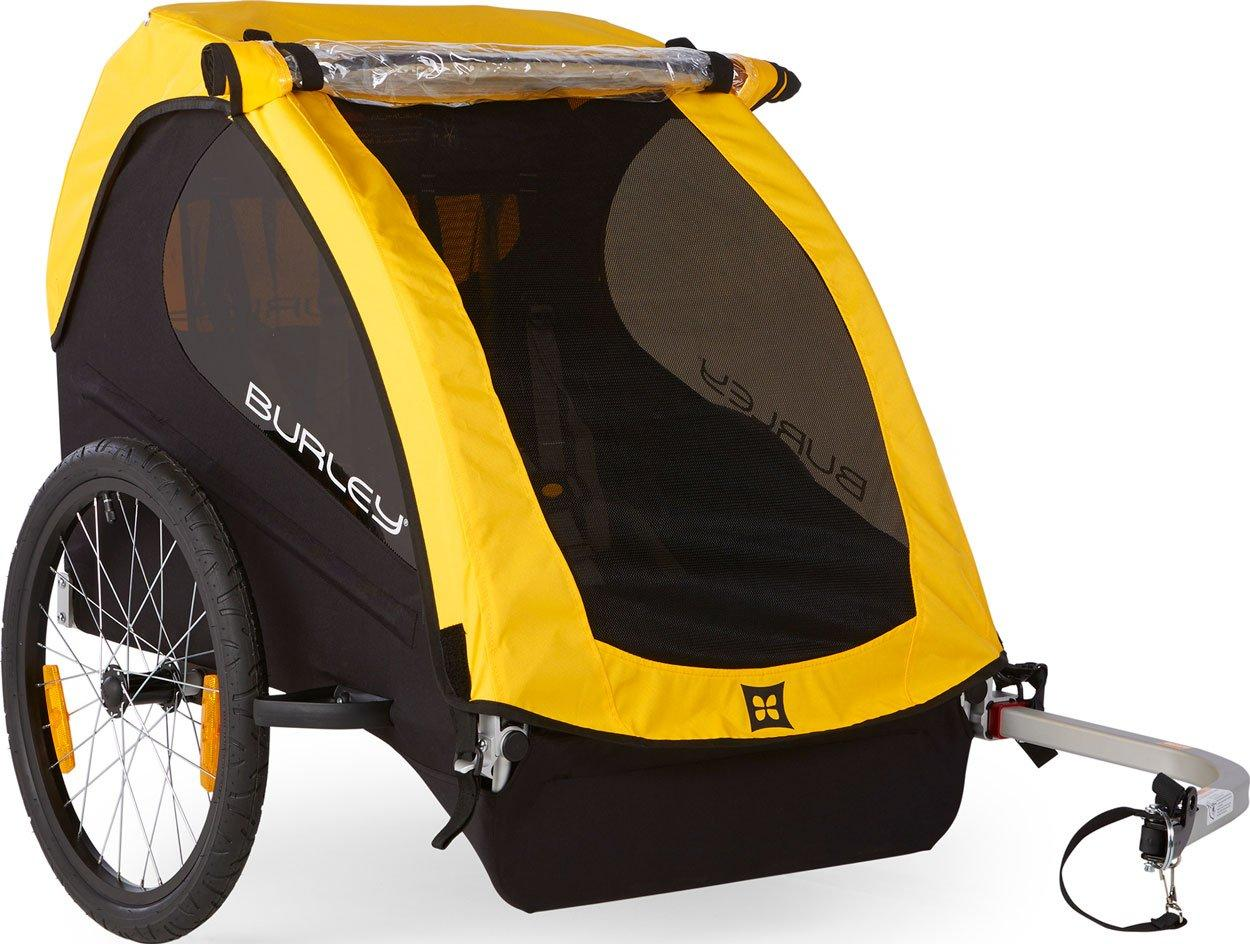BURLEY Bee Bike Trailer, YELLOW/TRAILER