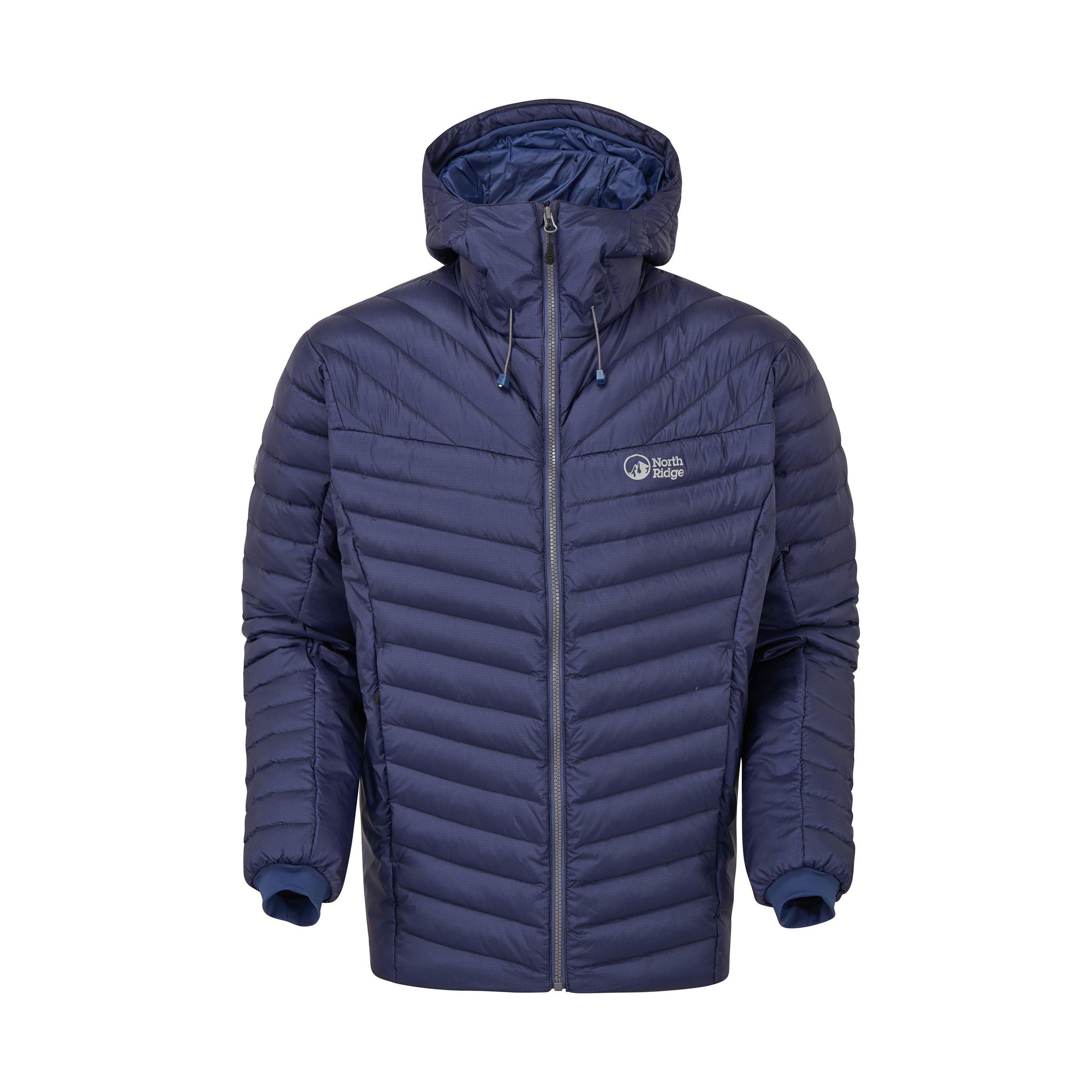 North Ridge Men's Hybrid Spirit Down Jacket, BLUE/JACKET