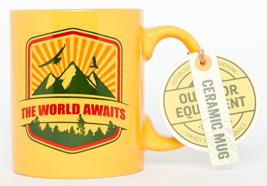 Handy Heroes World Awaits Mug, NOCOLOUR/MUG