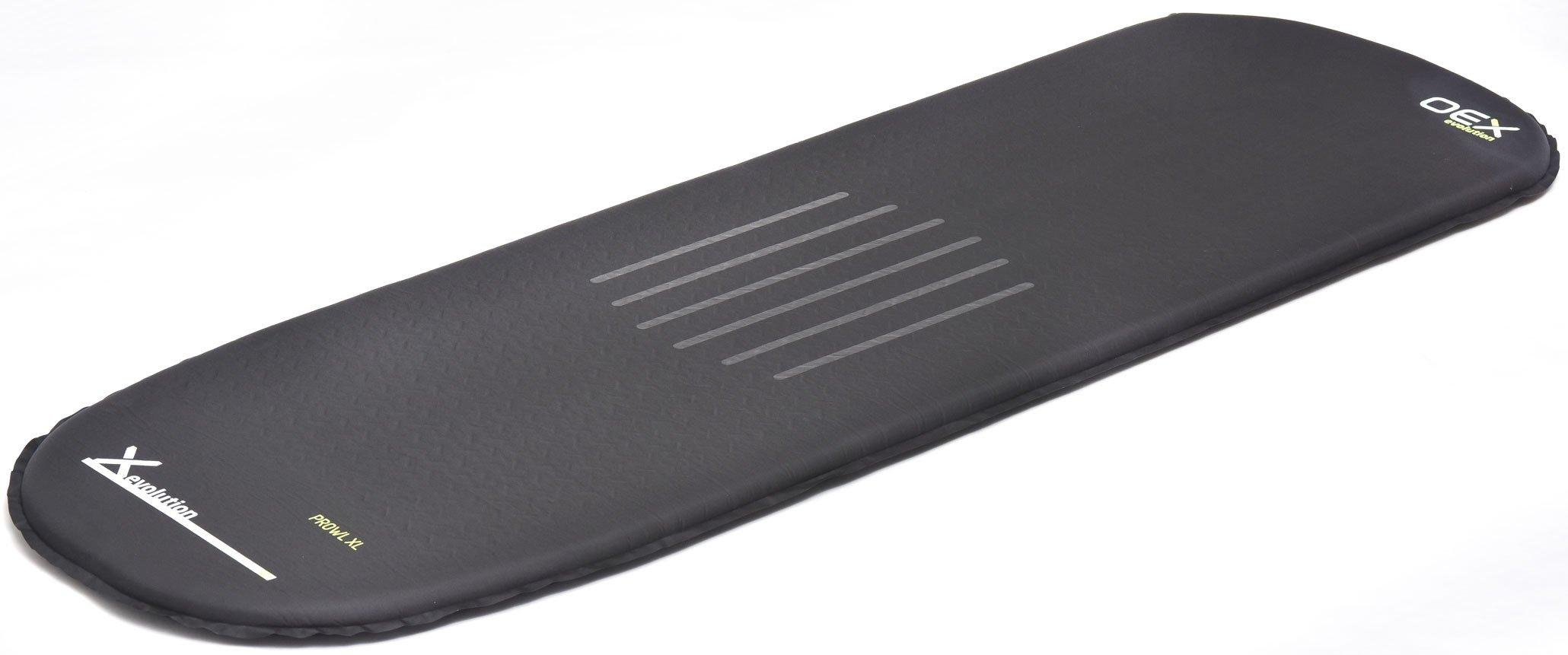 OEX Prowl XL Self-Inflating Mat, BLACK/SIM