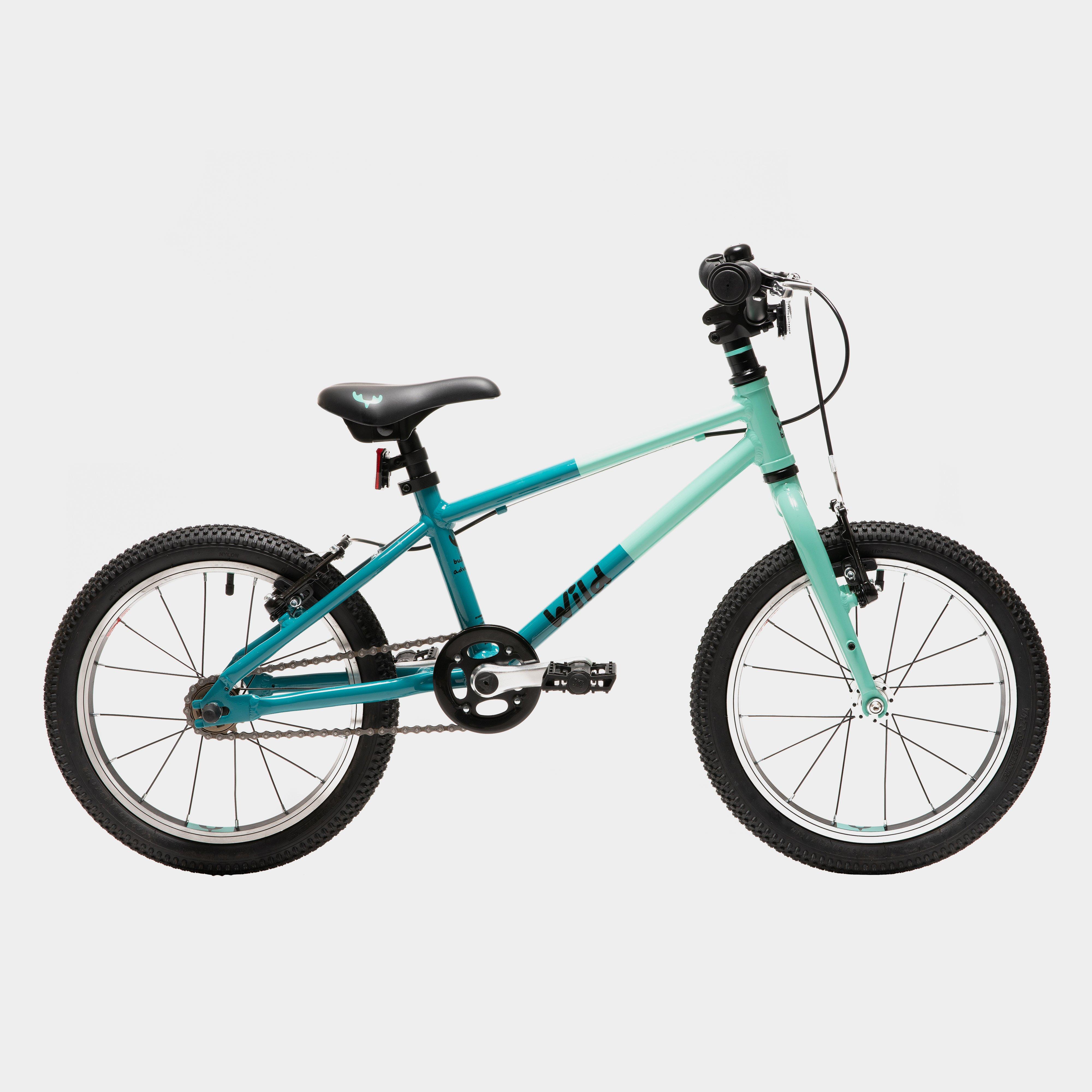 Wild Bikes Wild 16 Kids' Bike, GREEN-MINT/GIRLS