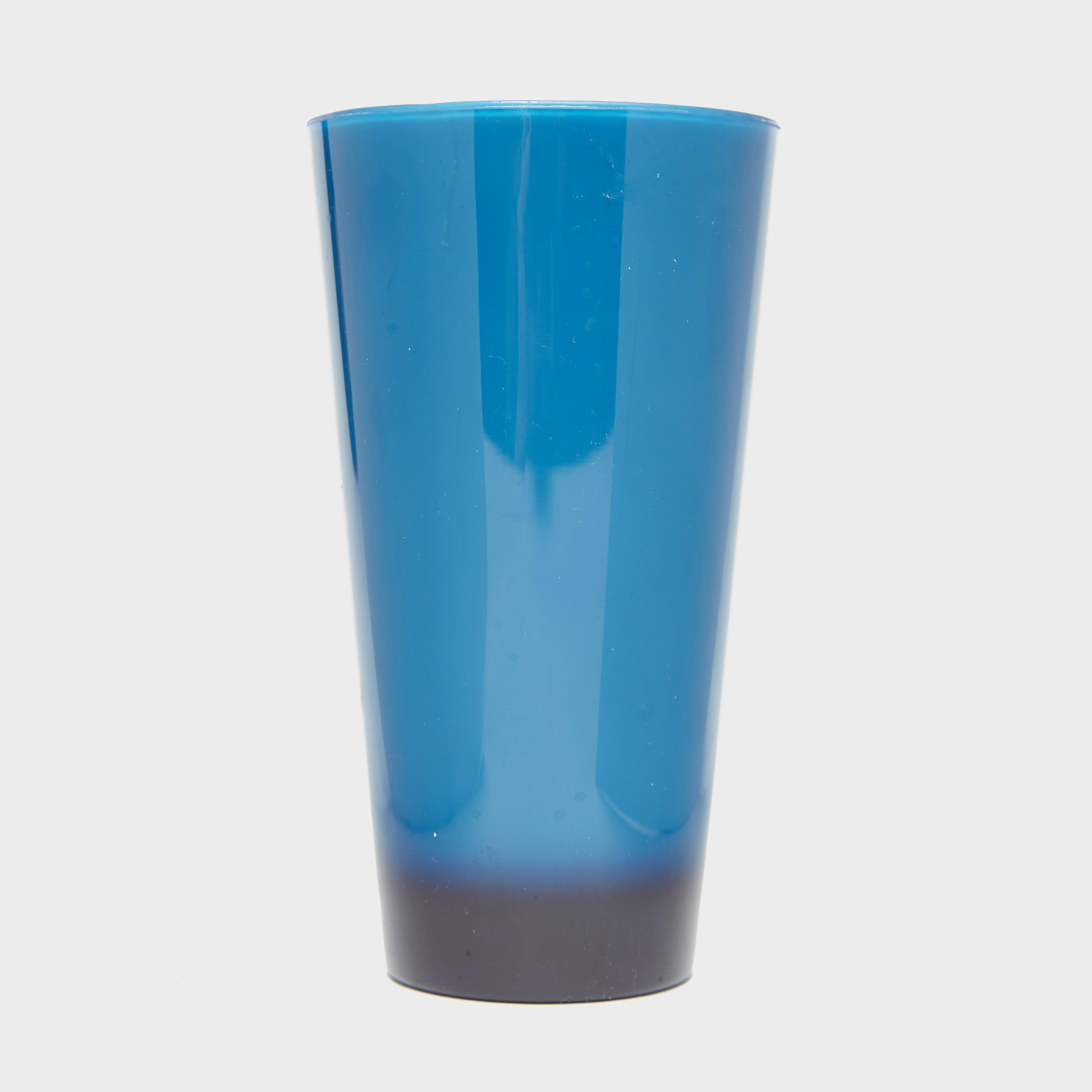 AIRGO DELUXE PLASTIC TUMBLER, BRIGHT BLUE/TUMBLER