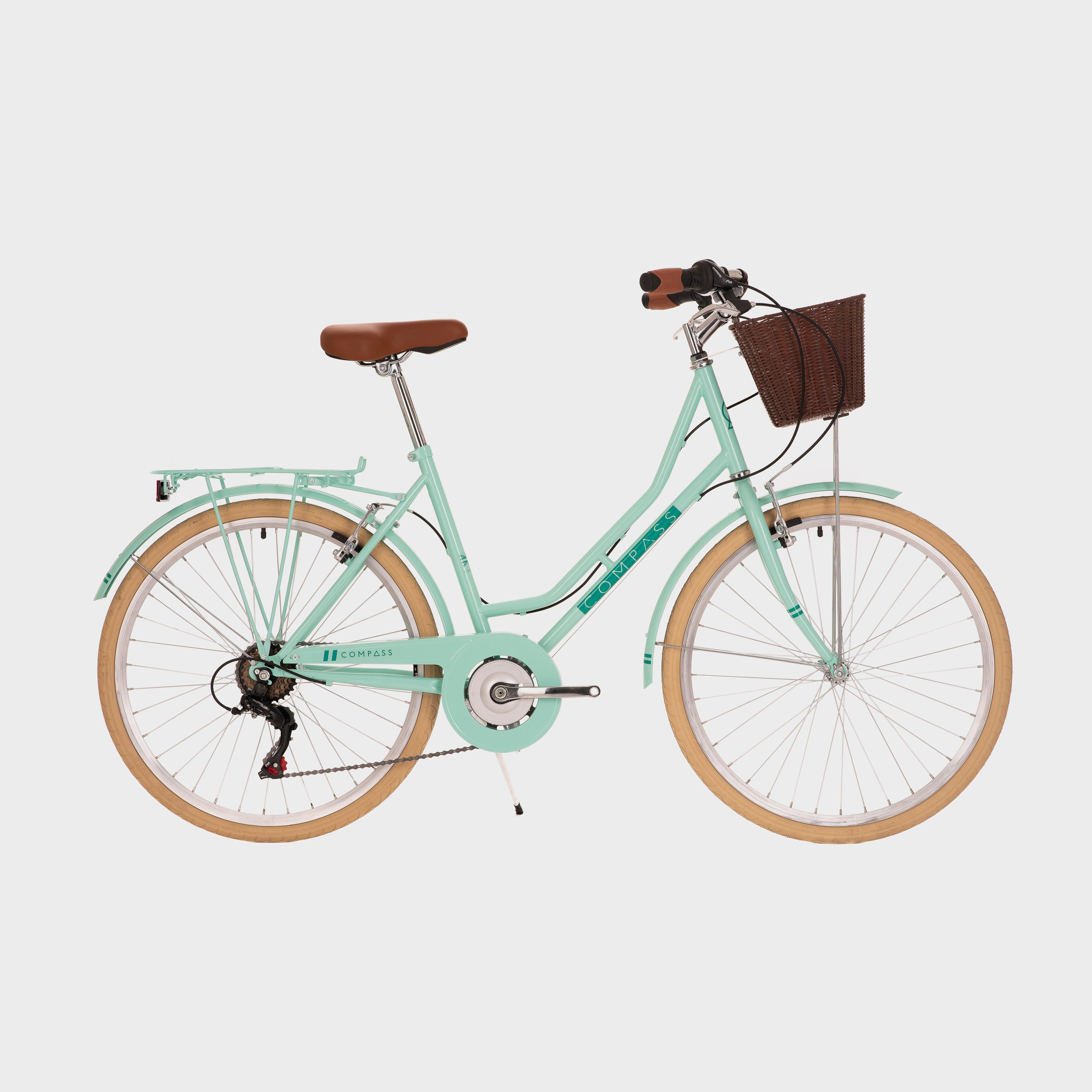 Compass Classic Women's Hybrid Bike, TEAL/CLASSIC