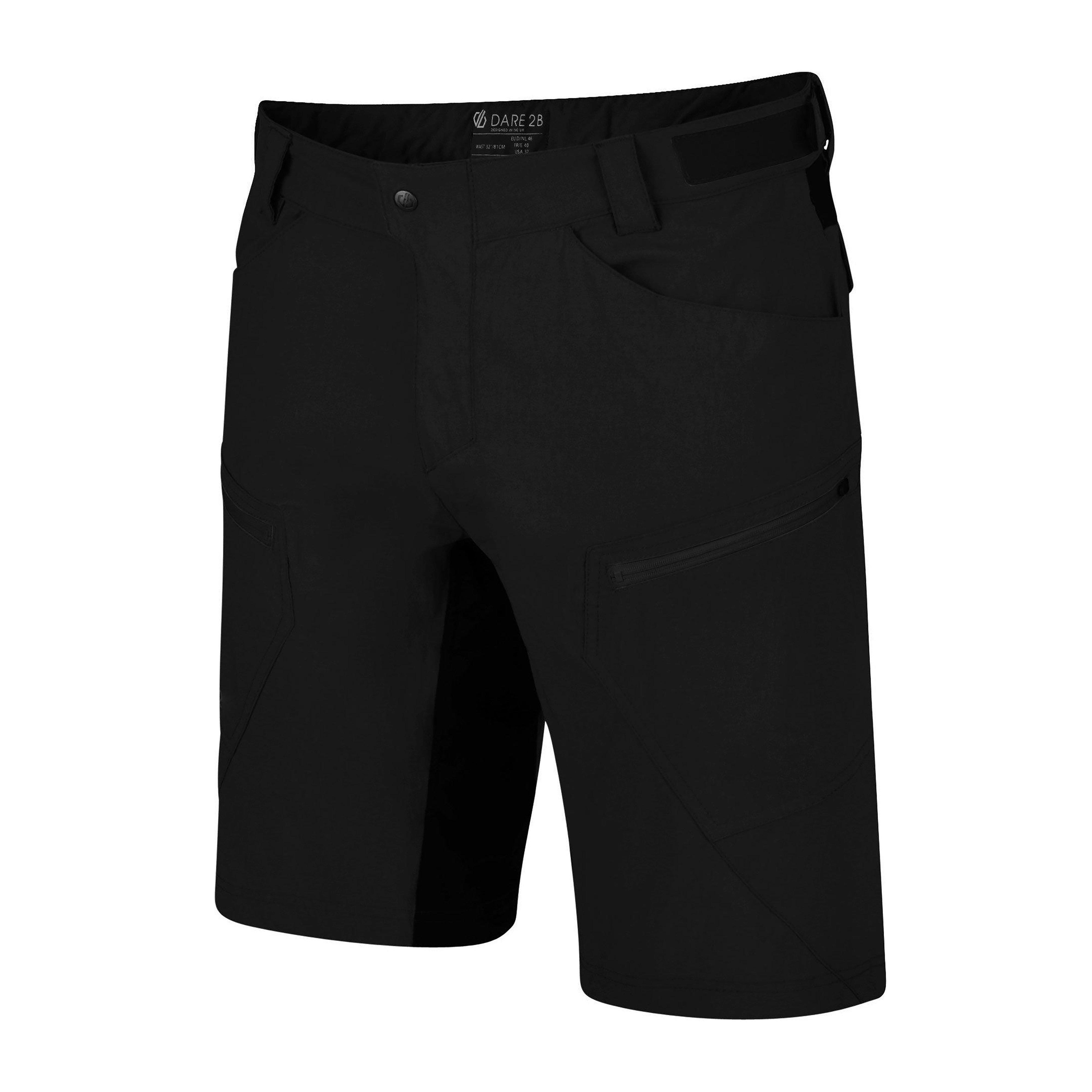 Dare 2B Men's Renew Cycle Shorts, BLACK/SHORT