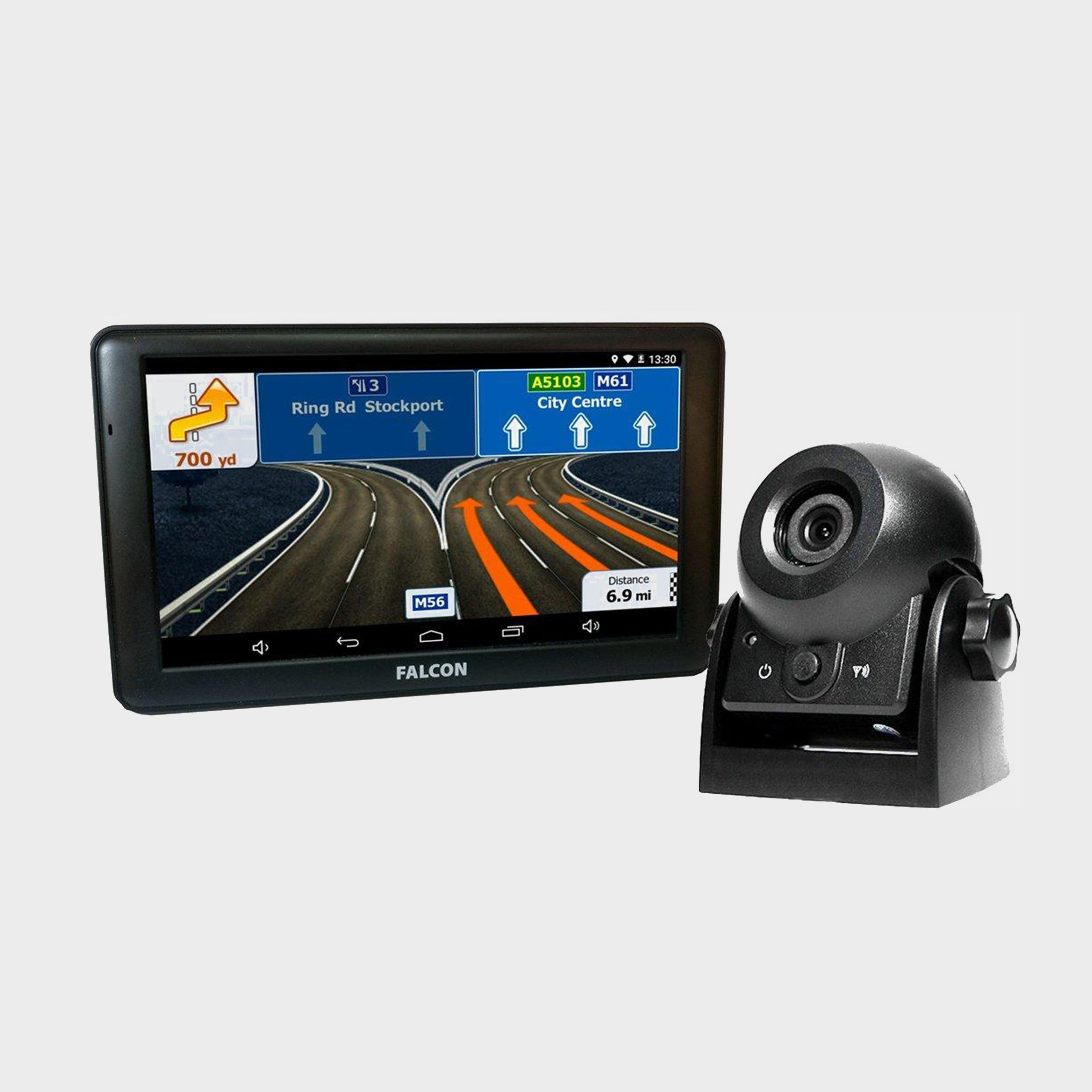 """Falcon Camper Plus 7"""" Sat Nav with Wireless Reversing Camera, NO COLOUR/WIT"""